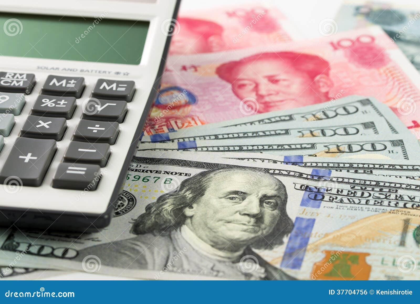 Valuta för USA Kina
