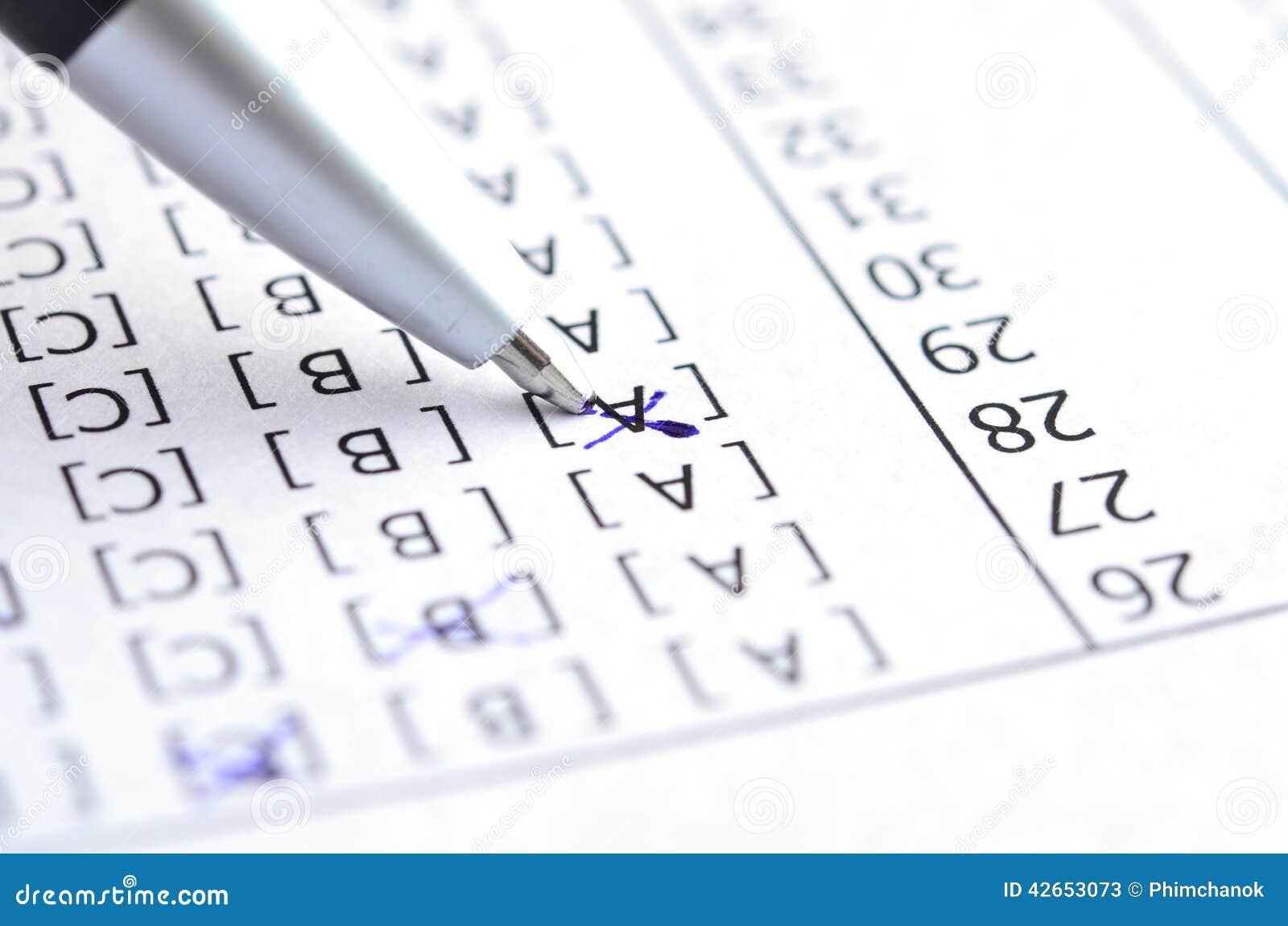 Valutazione del test