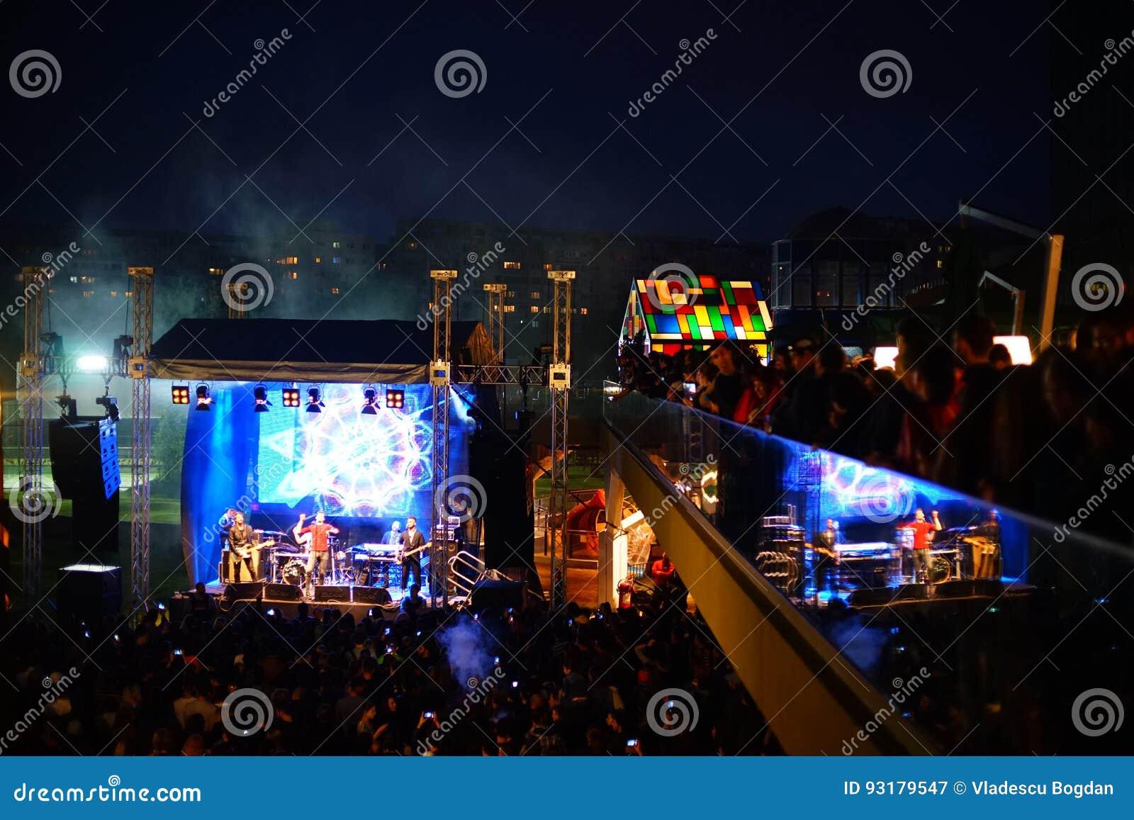 Vama Concert At Street Food Fest 2017, Bucharest, Romania