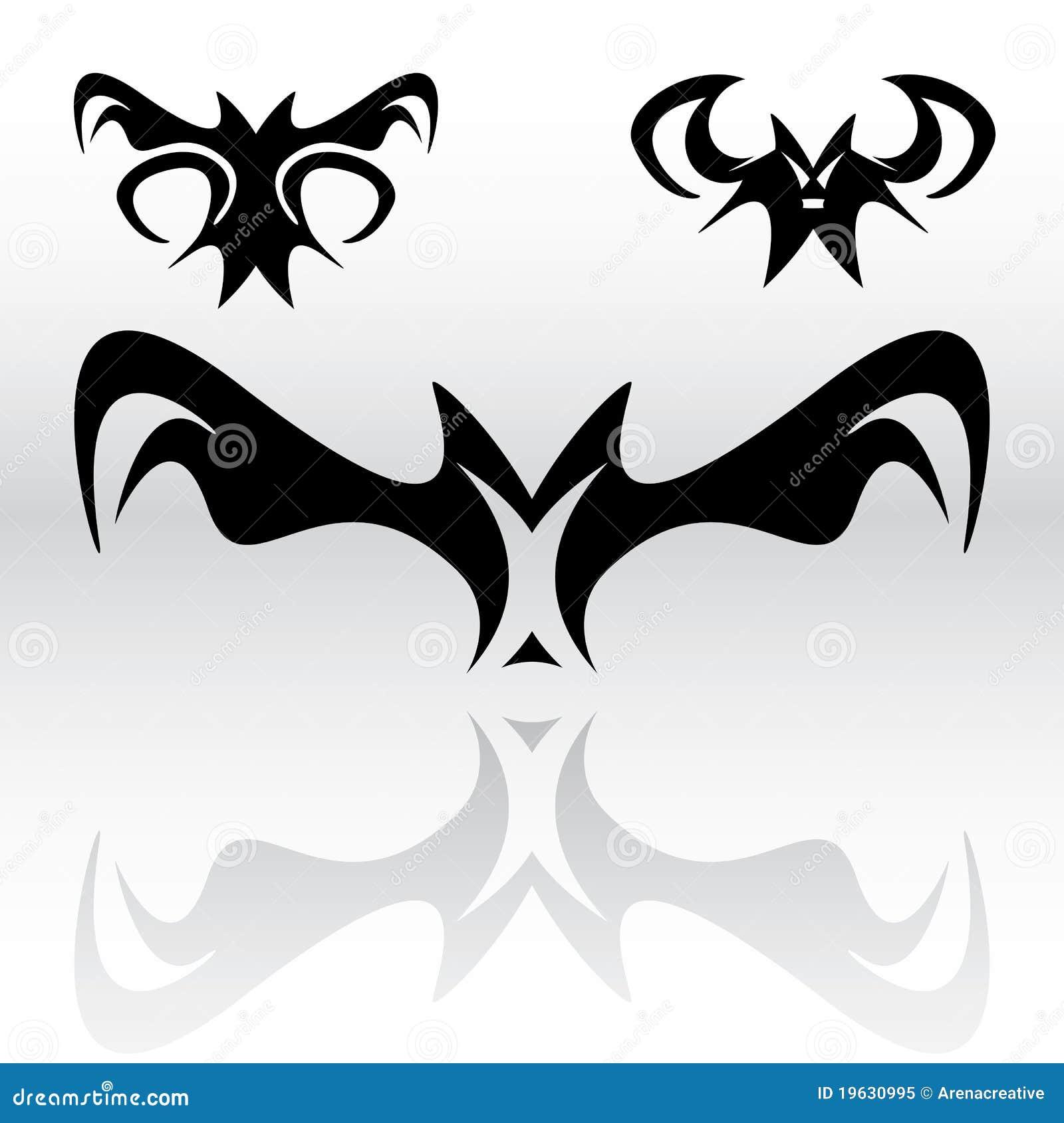 e59ba0d5c Vampire Bats Clipart stock vector. Illustration of symbols - 19630995