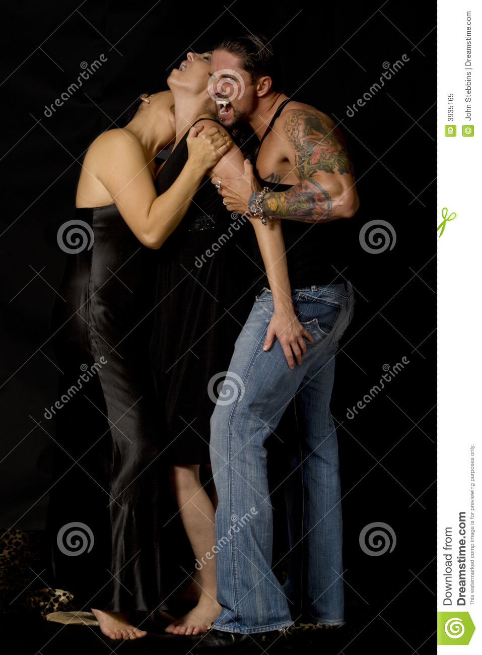 Vampire Bite Royalty Free Stock Photo - Image: 3935165