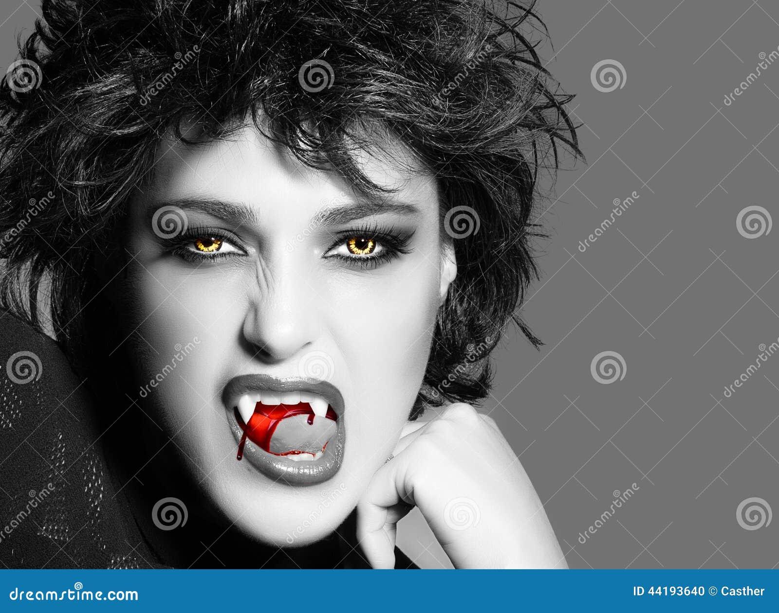 Vampire Fille Gothique De Beauté Photo Stock Image Du Caractère