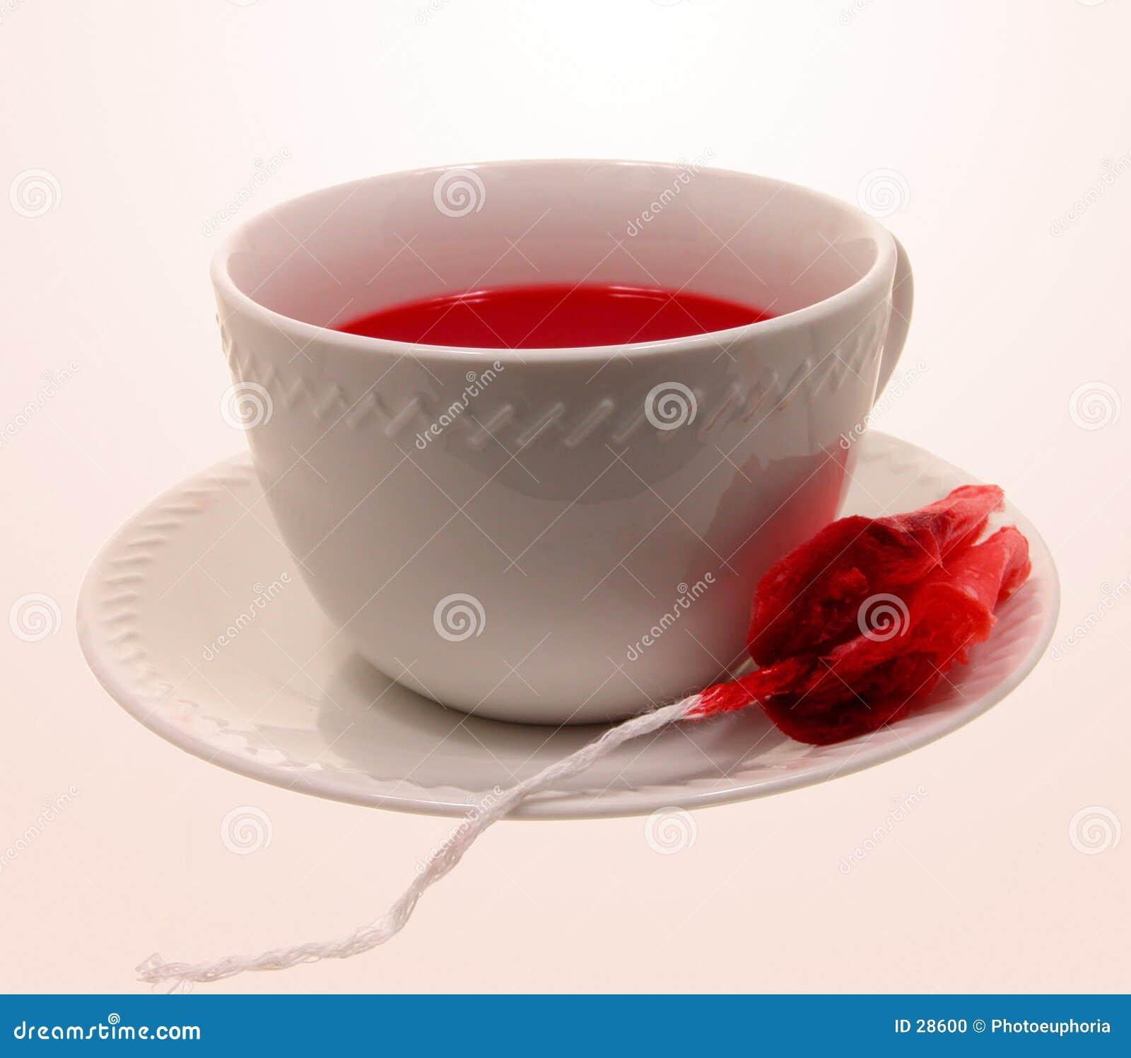 Vampyr för kopphalloween varm tea