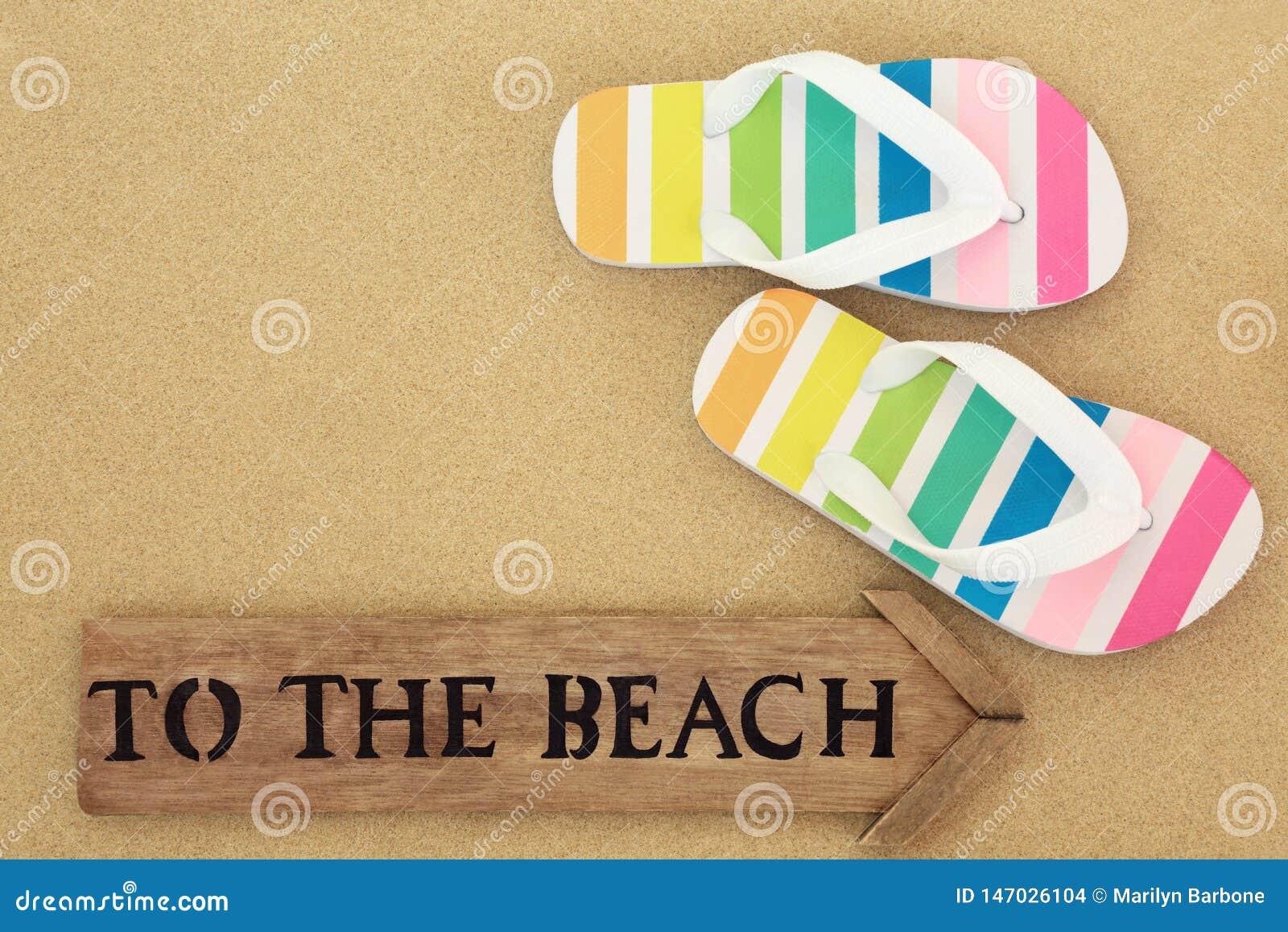 Van aan het strand