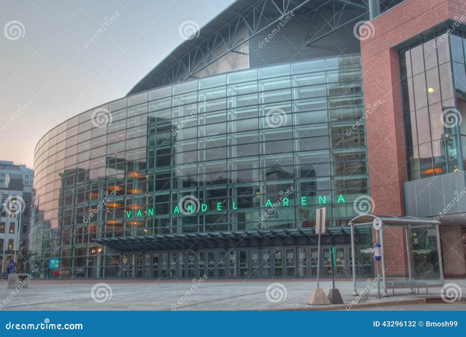 Van andel Arena in Grand Rapids Michigan