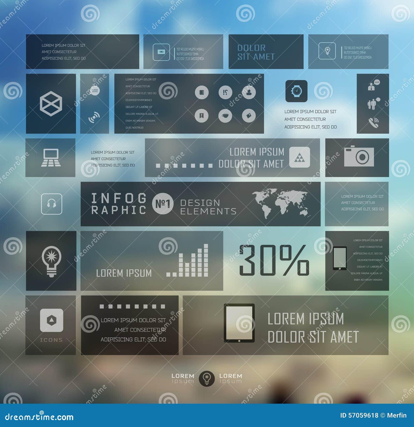 Van Bedrijfs infographic malplaatje vectorillustratie