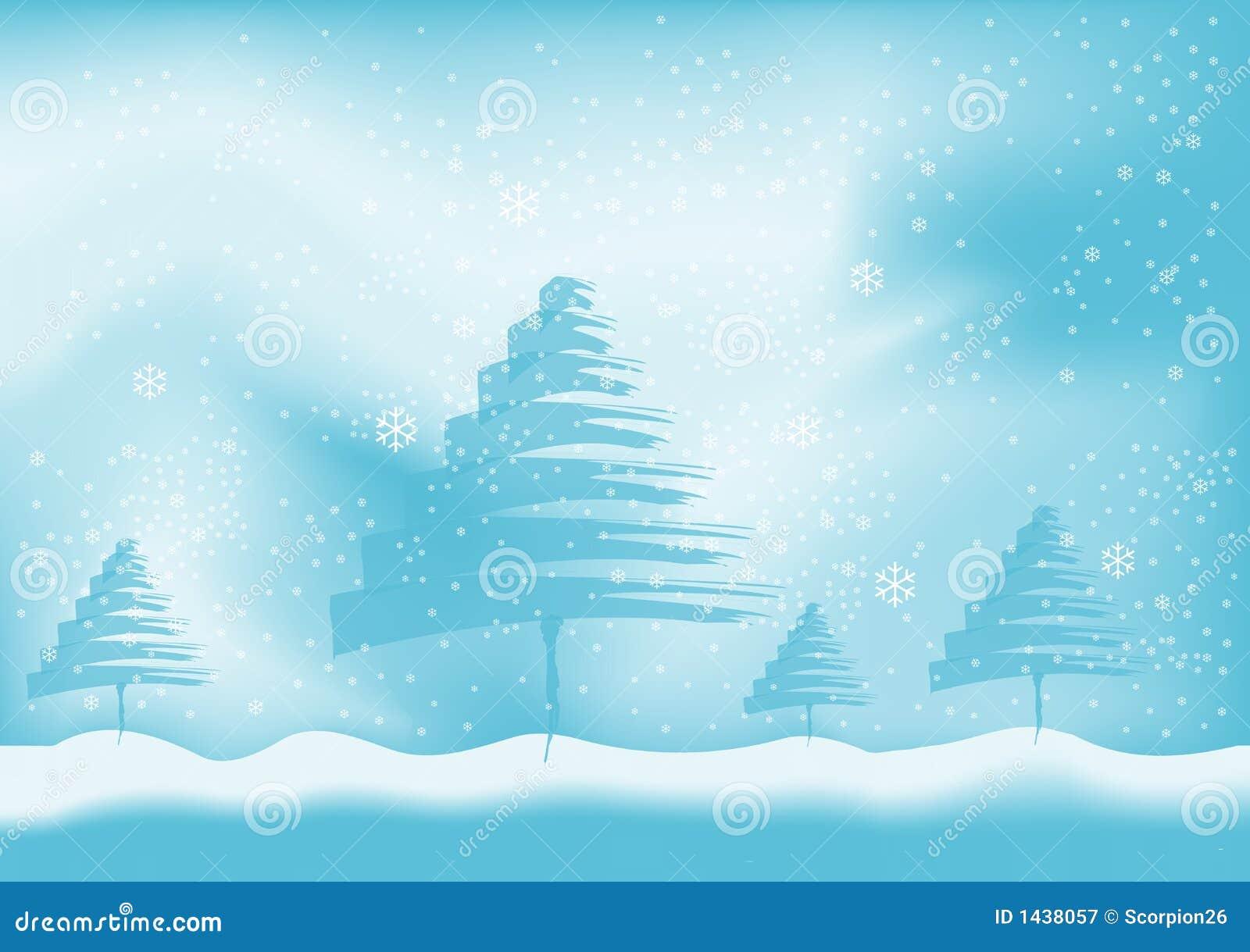 Van de achtergrond winter vector