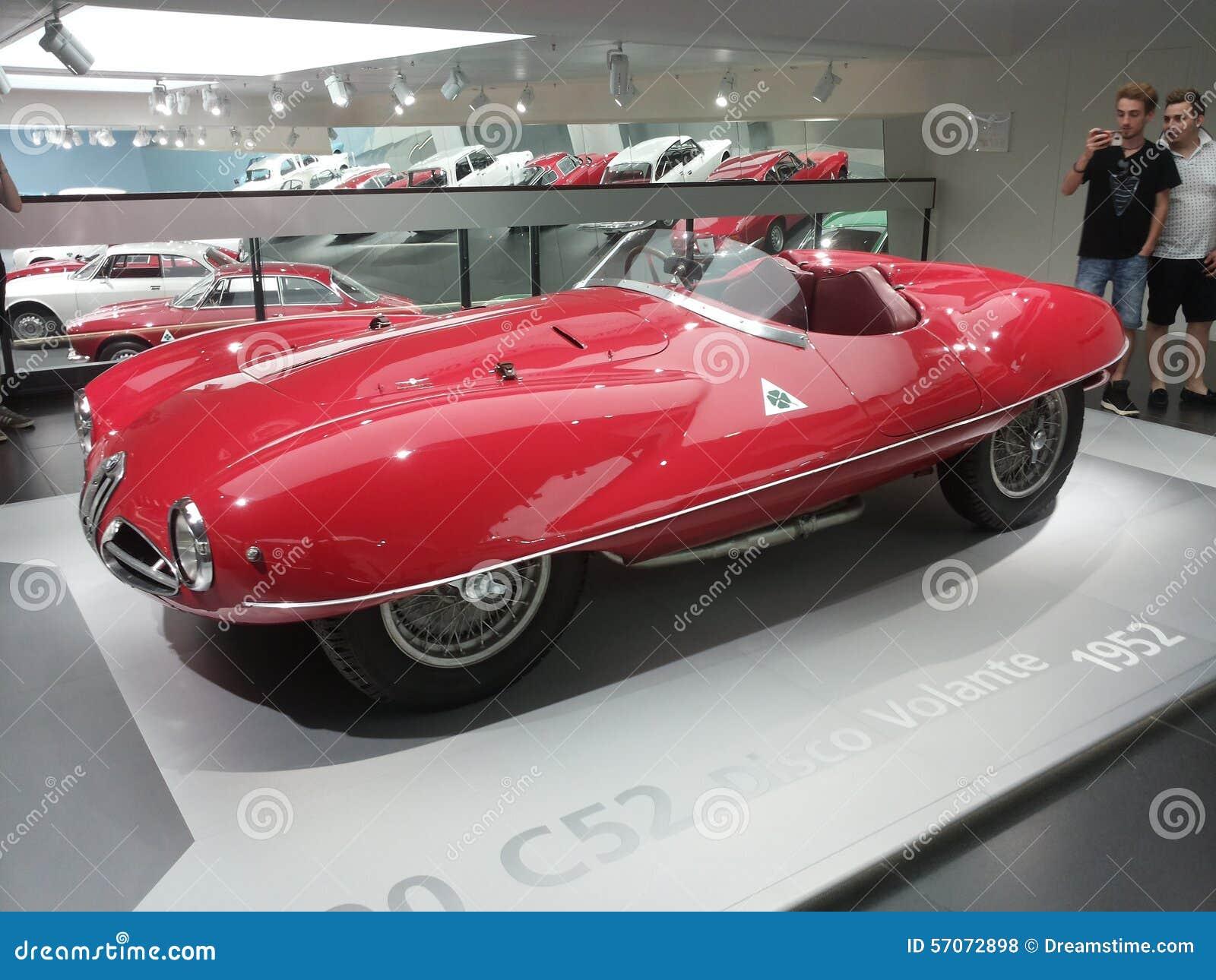 Van de alpha- van de autoauto s romeodisco volante 1952 super nuvolari