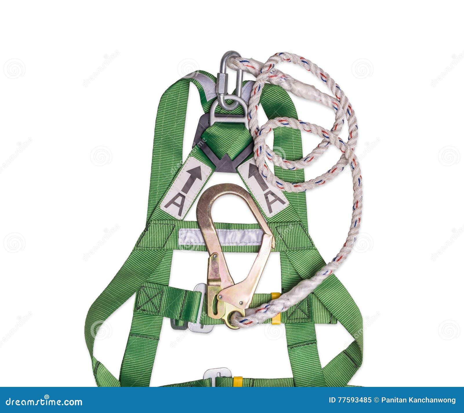 Van de de beschermingshaak van de close-updaling de uitrusting en het sleutelkoord voor het werk bij hoogten