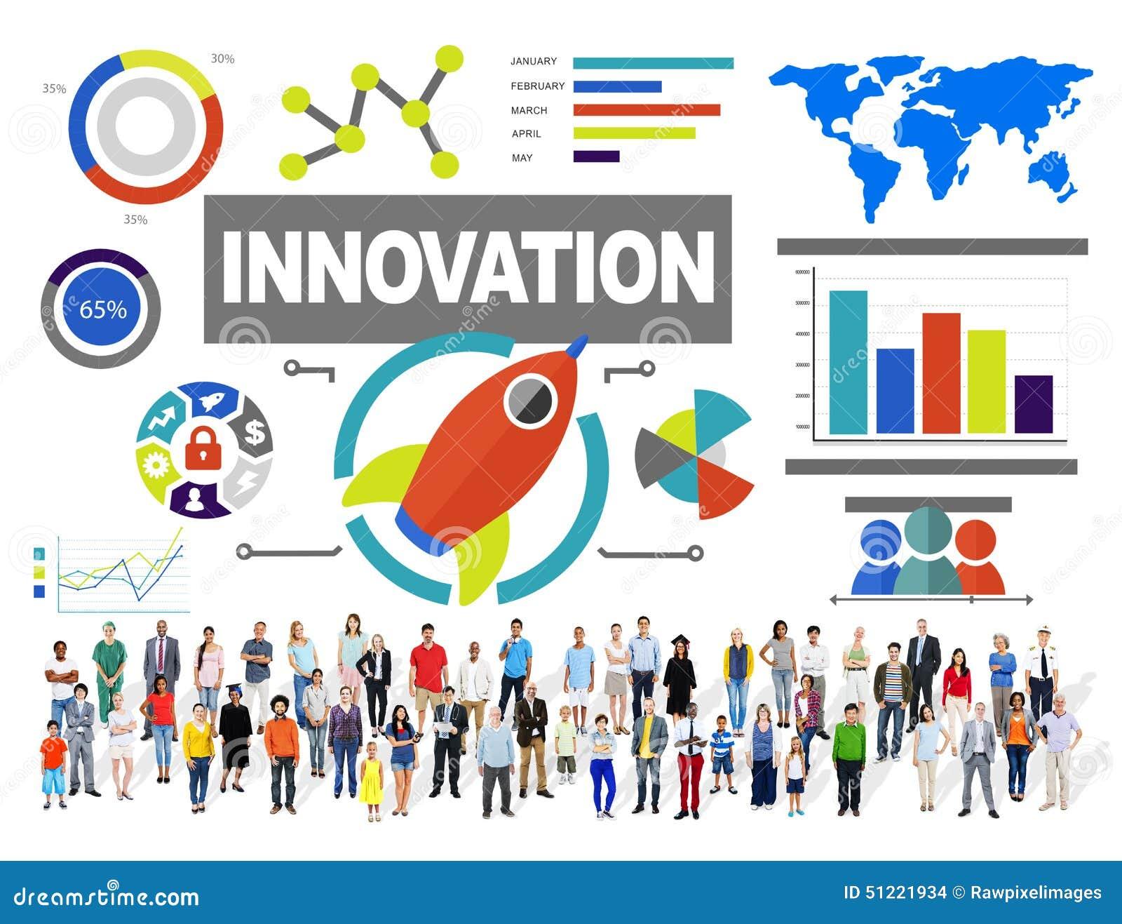Van de de Creativiteitgroei van de mensensamenhorigheid het Concept van de het Succesinnovatie