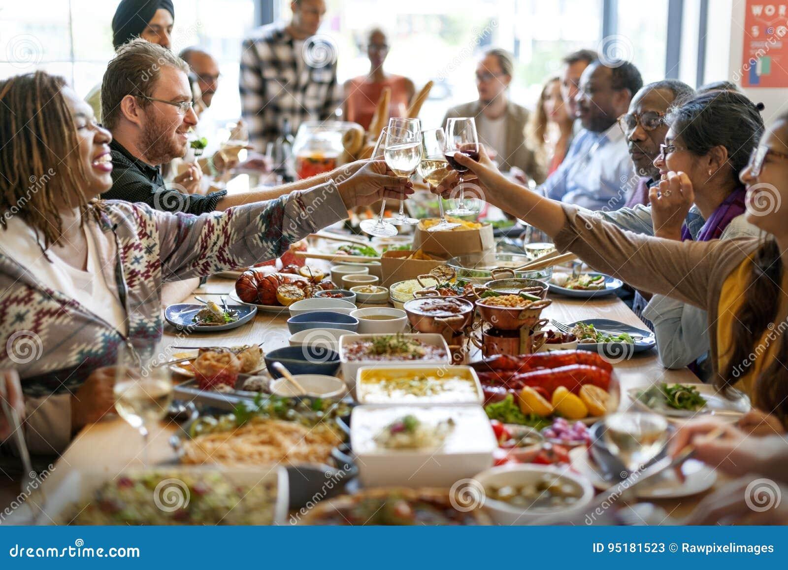 Van de de Keuken Culinair Gastronomisch Partij van de voedselcatering de Toejuichingenconcept