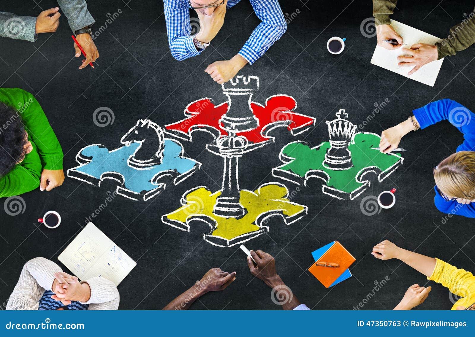 Van de de Strategievrije tijd van het schaakspel de Tactiek van de het Vermaakrecreatie bedriegt