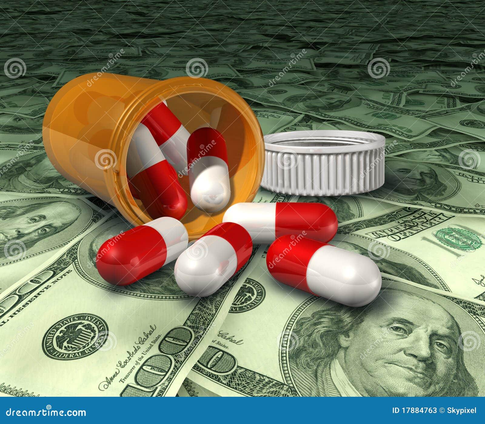 Van de drugs hoge kosten van het voorschrift de gezondheidszorgprijzen m