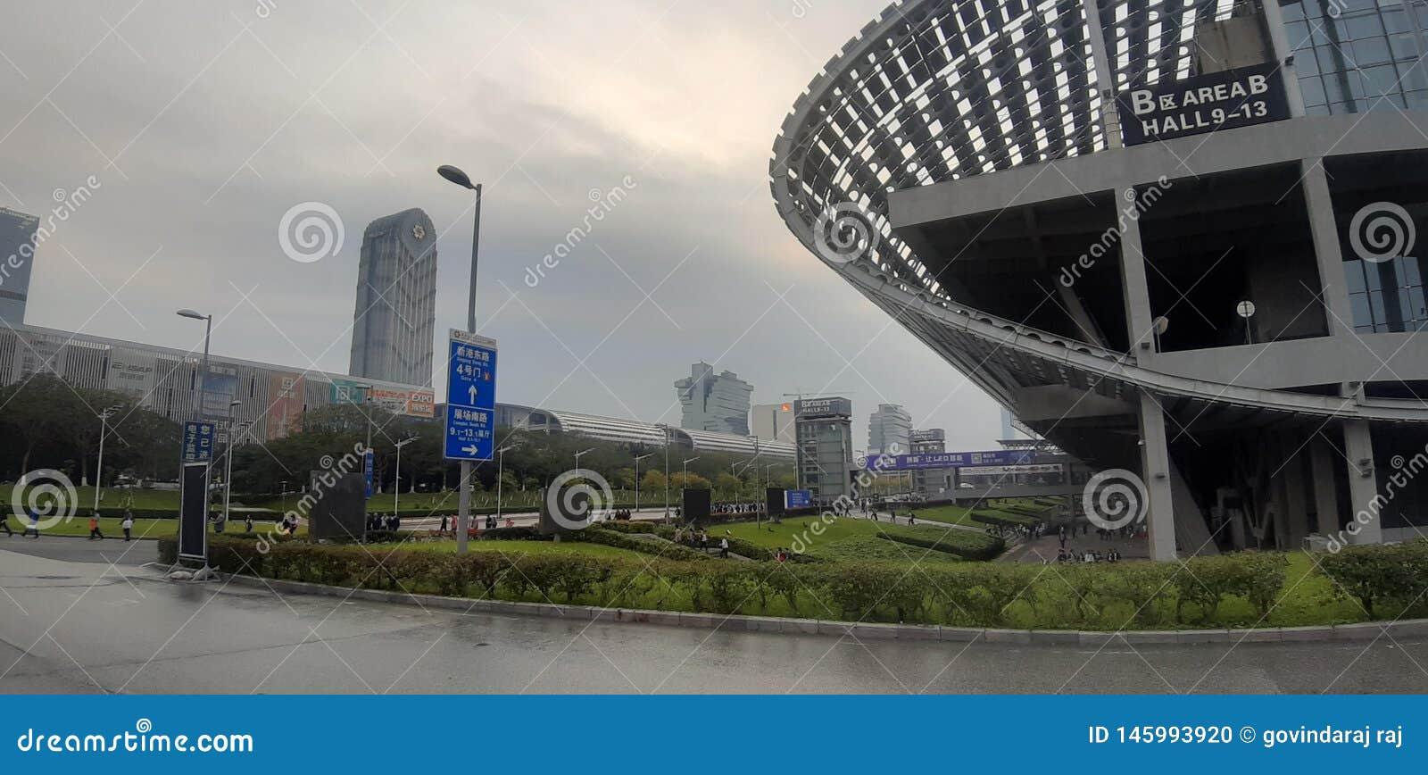 Van de guangzhoutentoonstelling van China het centrumeiland