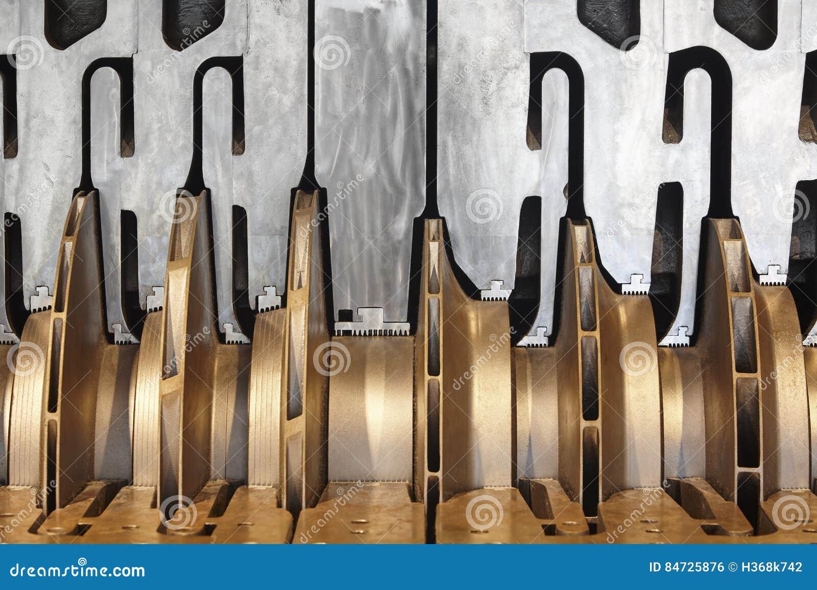 Van de het gascompressor van het olieplatform zwaar de machinesdetail noorwegen