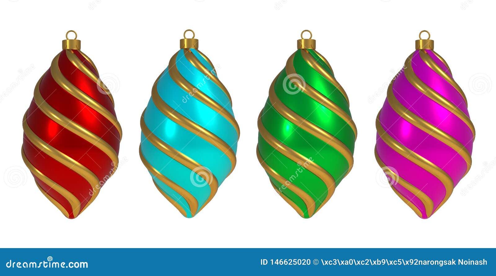Van de het Nieuwjaar` s Vooravond van de Kerstmisbal van de de decoratiewinding van de de lijnensnuisterij herinnering van de de