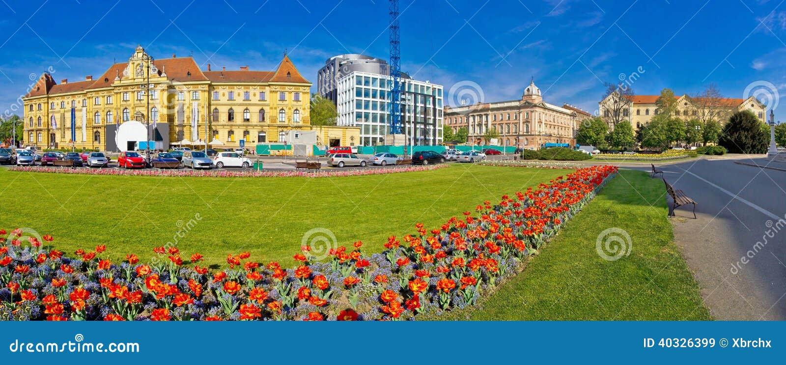 Van de HofmaarschalkTito van Zagreb het vierkante panorama