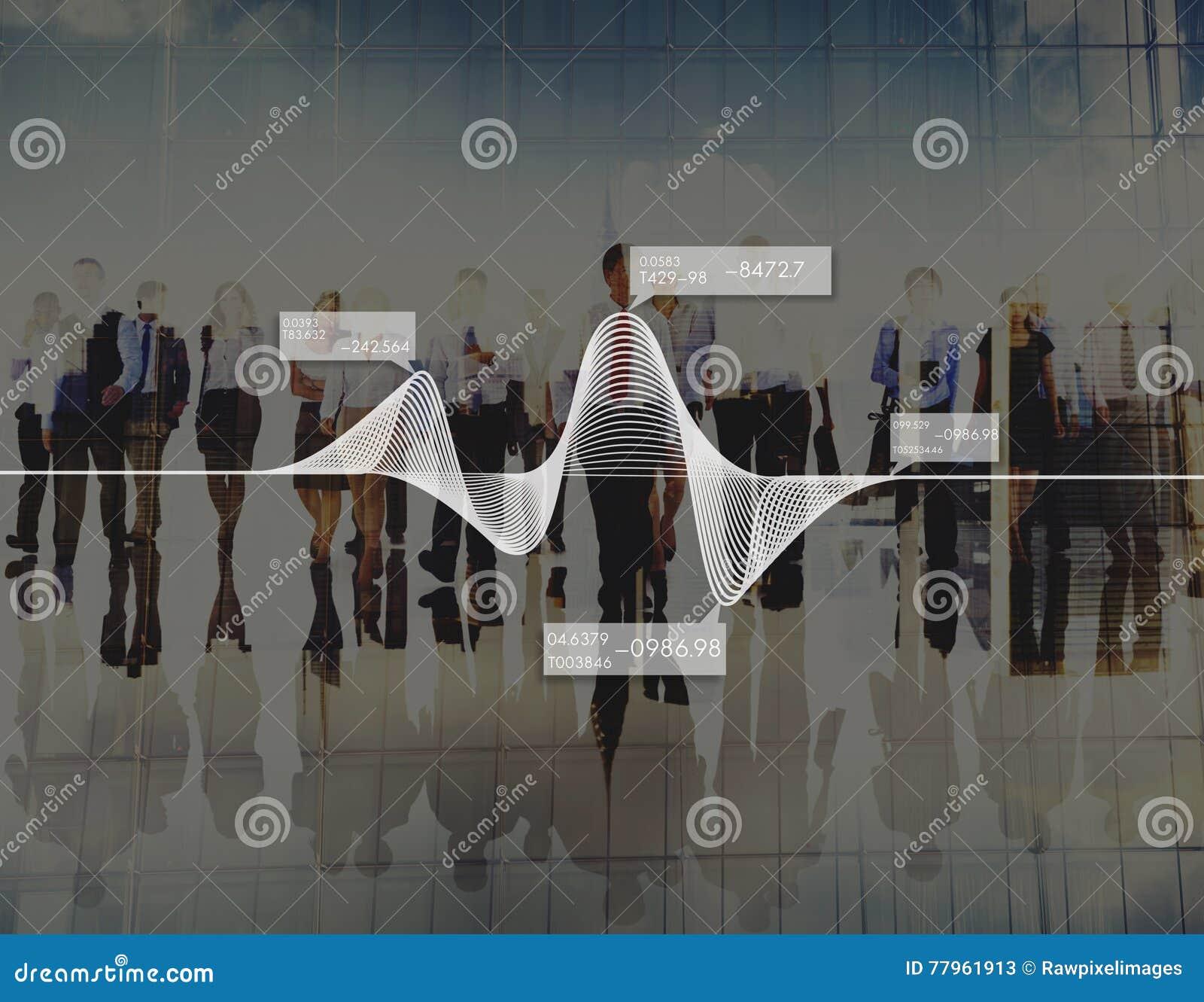 Van de Informatiestatistieken van diagramgrafieken het Concept van de Voorraadgegevens