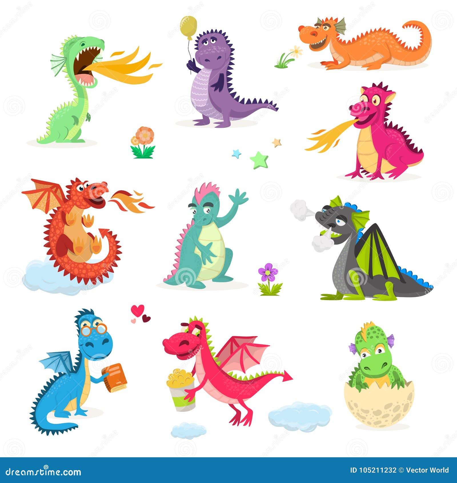 Van de libeldino van het draakbeeldverhaal de vector leuke dinosaurus van de het karakterbaby voor jonge geitjes