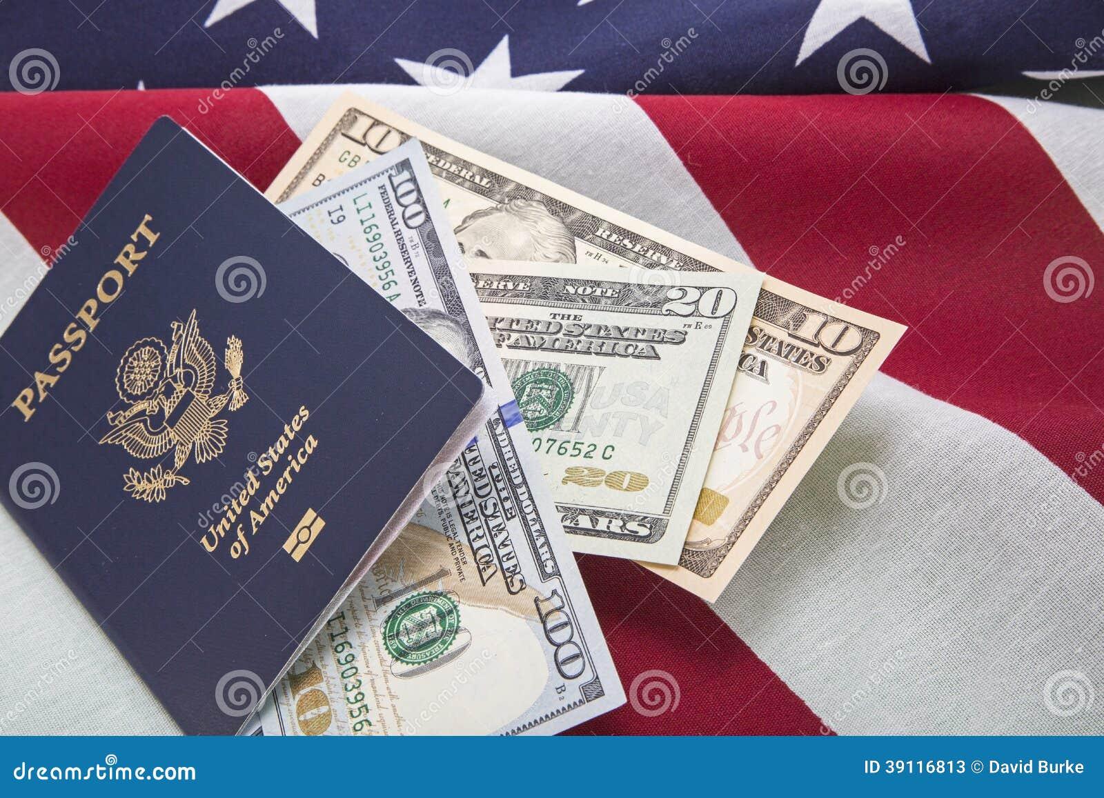 Van de muntrekeningen van de reisv.s. van de het paspoortv.s. de vlagsucces
