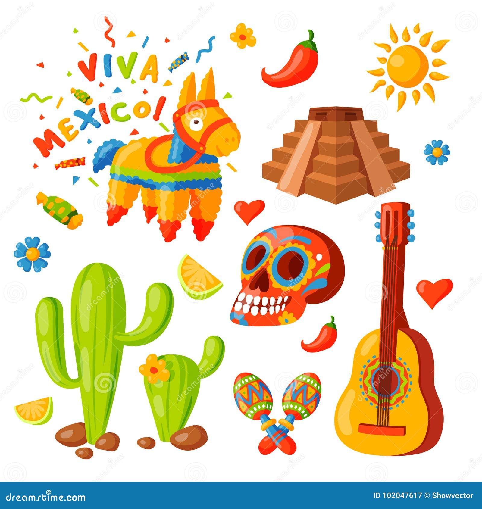 Van De De Pictogrammen Vectorillustratie Van Mexico Van De Reistequila  Traditionele Grafische Van De De Alcoholfiesta Van Het De Vector  Illustratie - Illustratie bestaande uit illustratie, aztec: 102047617
