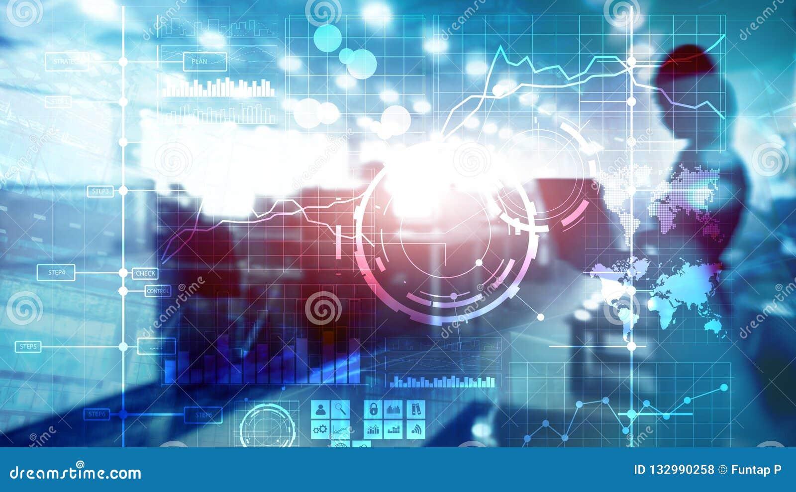 Van de prestatie-indicatorkpi van bedrijfsintelligentiebi de Zeer belangrijke van het de Analysedashboard transparante vage achte