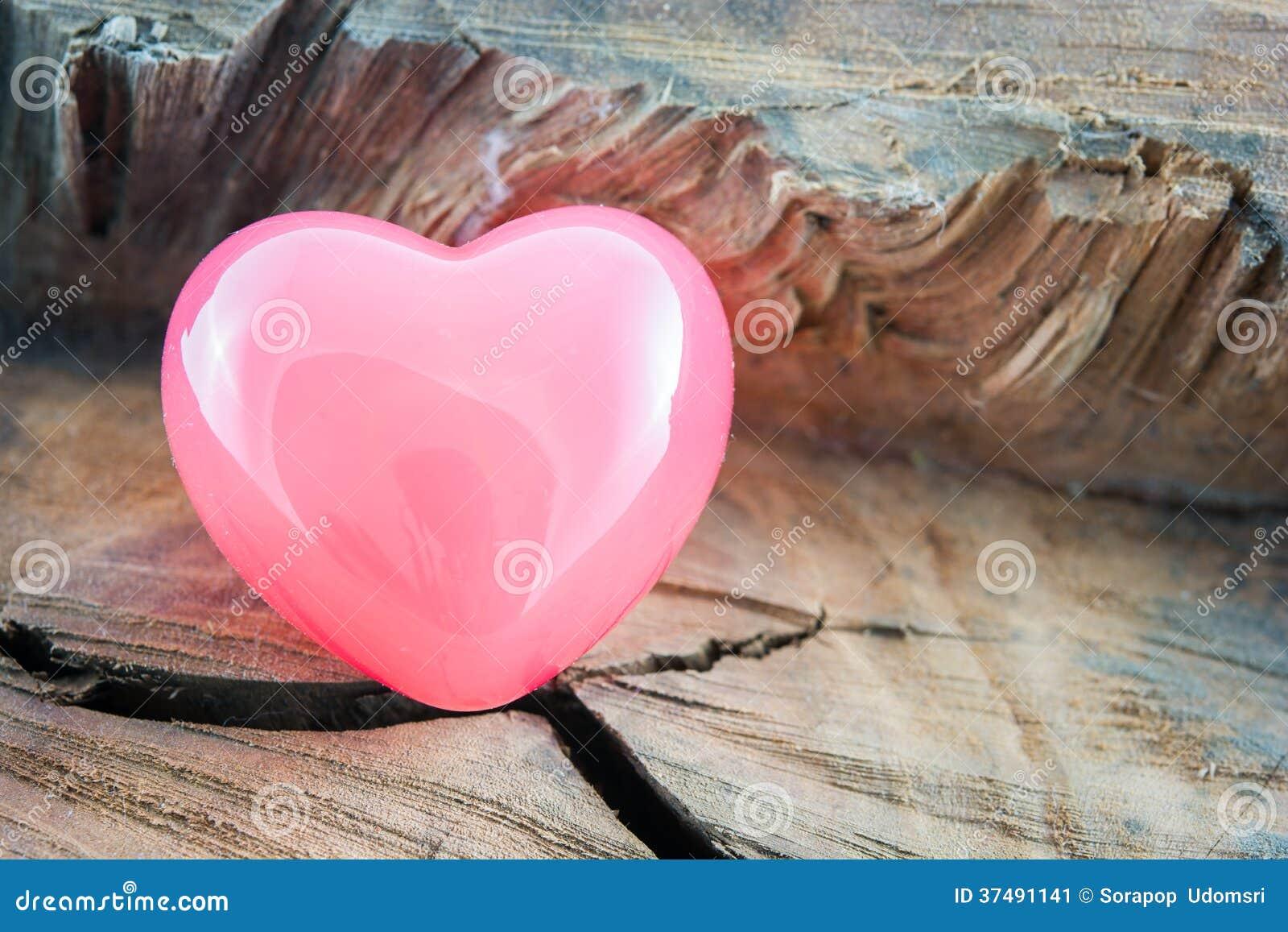 Van de valentijnskaartendag Roze Hart als achtergrond