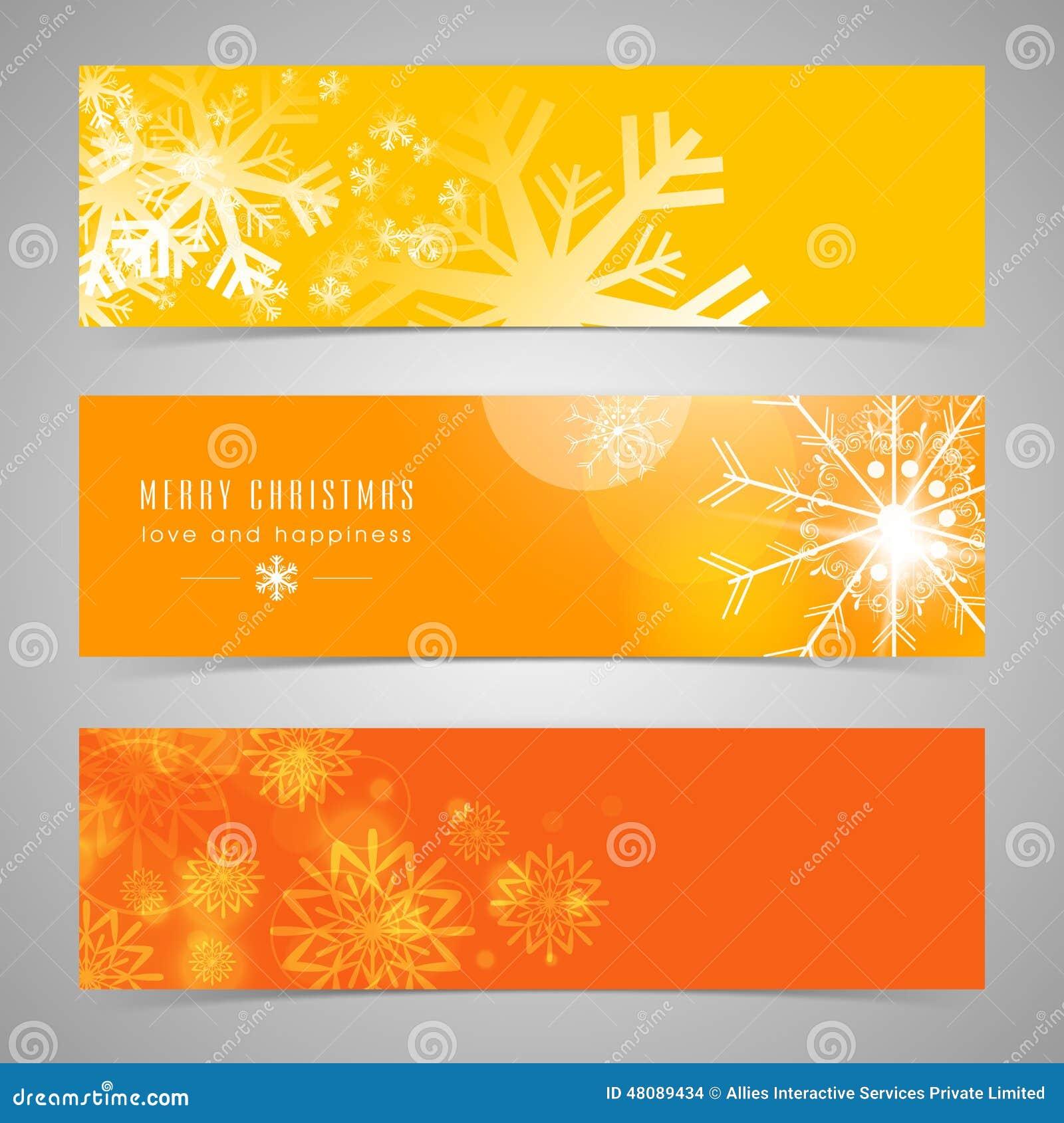 Van de Webkopbal of banner ontwerp voor Vrolijke Kerstmisviering