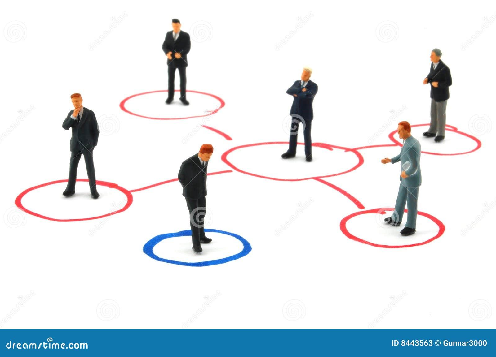 Van het bedrijfs voorzien van een netwerk mensen stock afbeelding afbeelding 8443563 - Een wasruimte voorzien ...