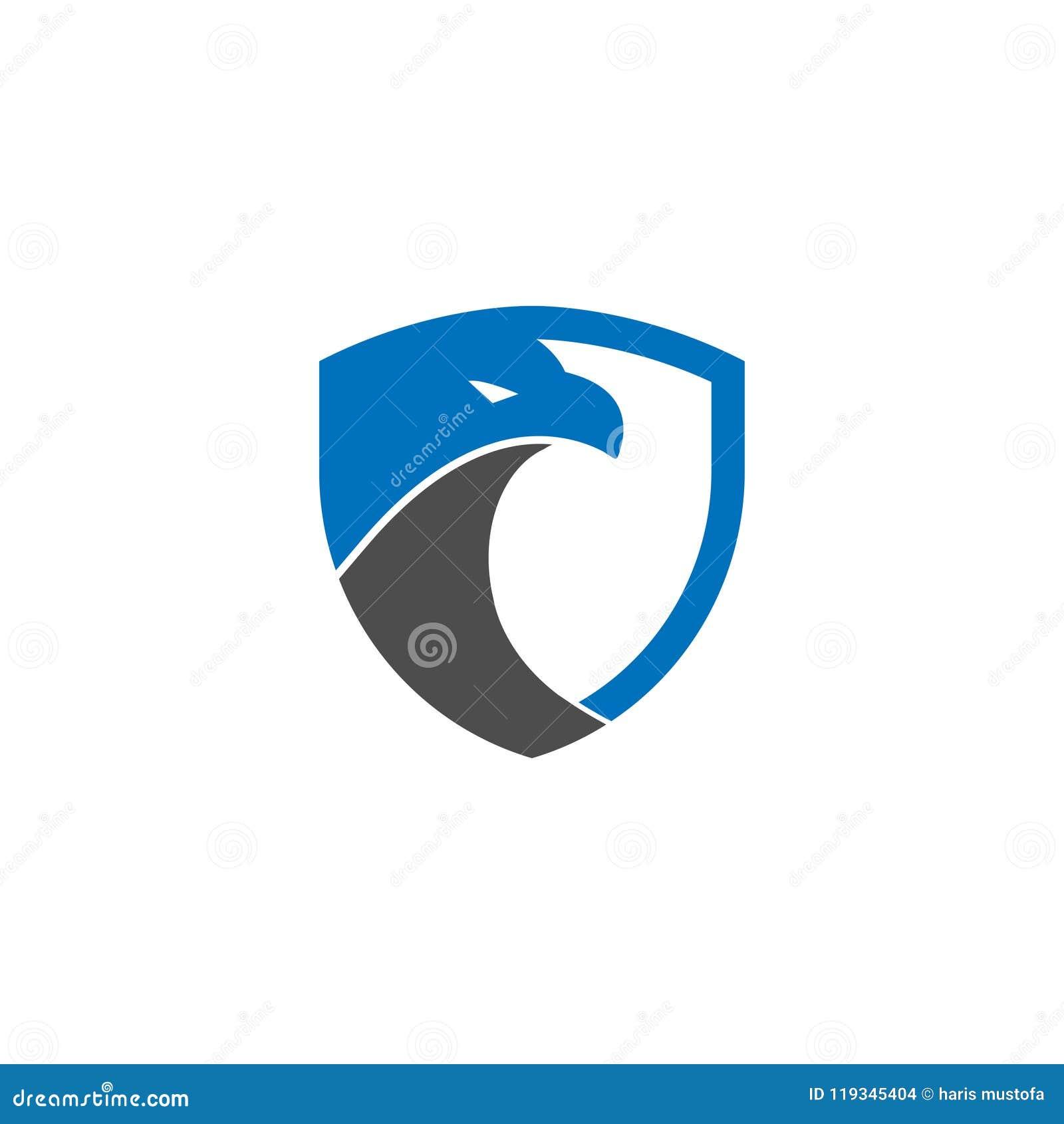 Van het de adelaarsembleem van het veiligheidsschild het ontwerpmalplaatje