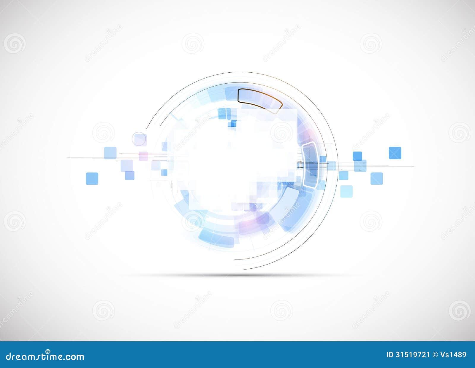 Van het de bedrijfs nieuwe technologieconcept van de oneindigheidscomputer achtergrond