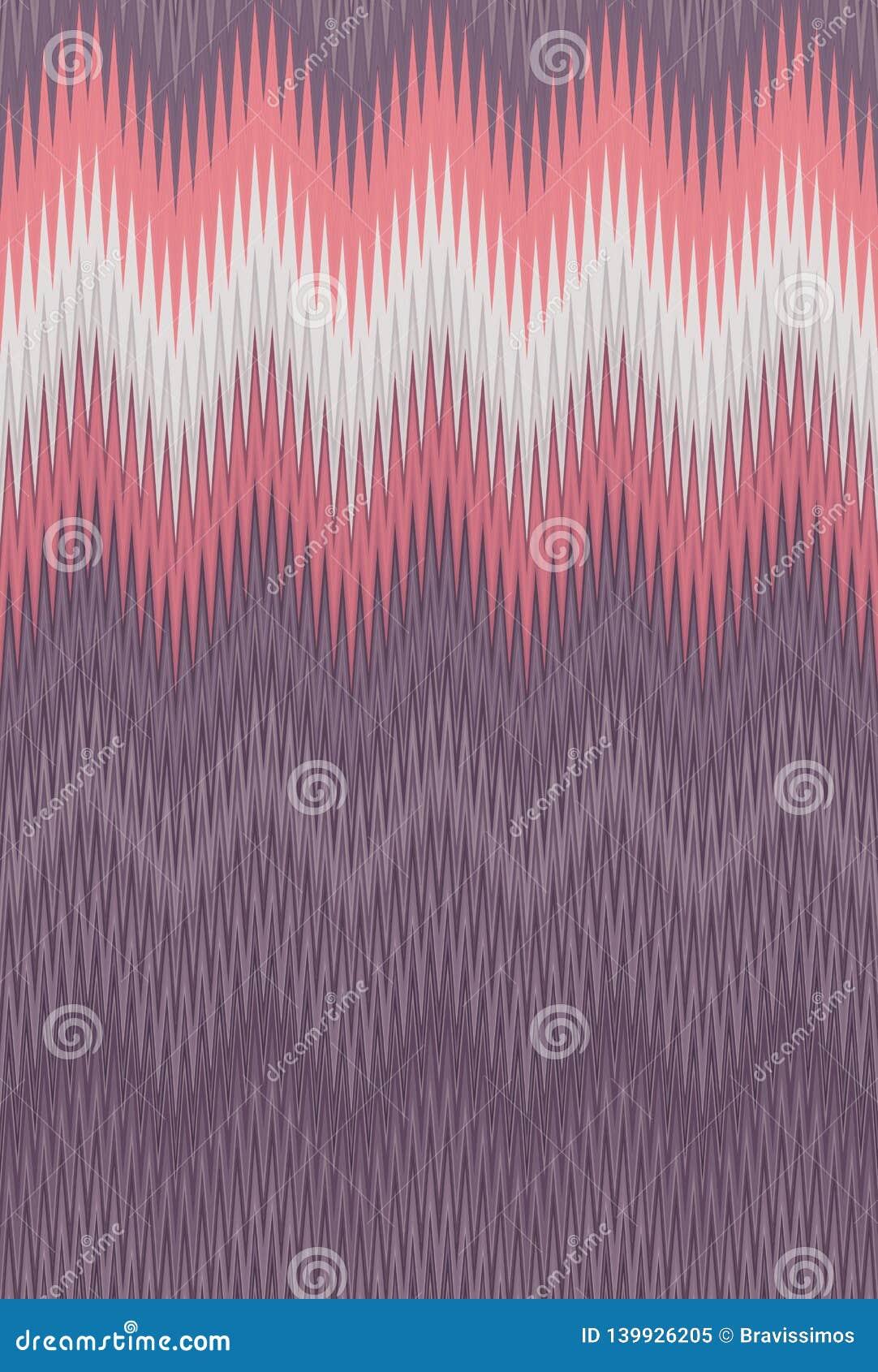 Van het de golf uitstekende retro patroon van de chevronzigzag de kunst abstracte tendensen als achtergrond