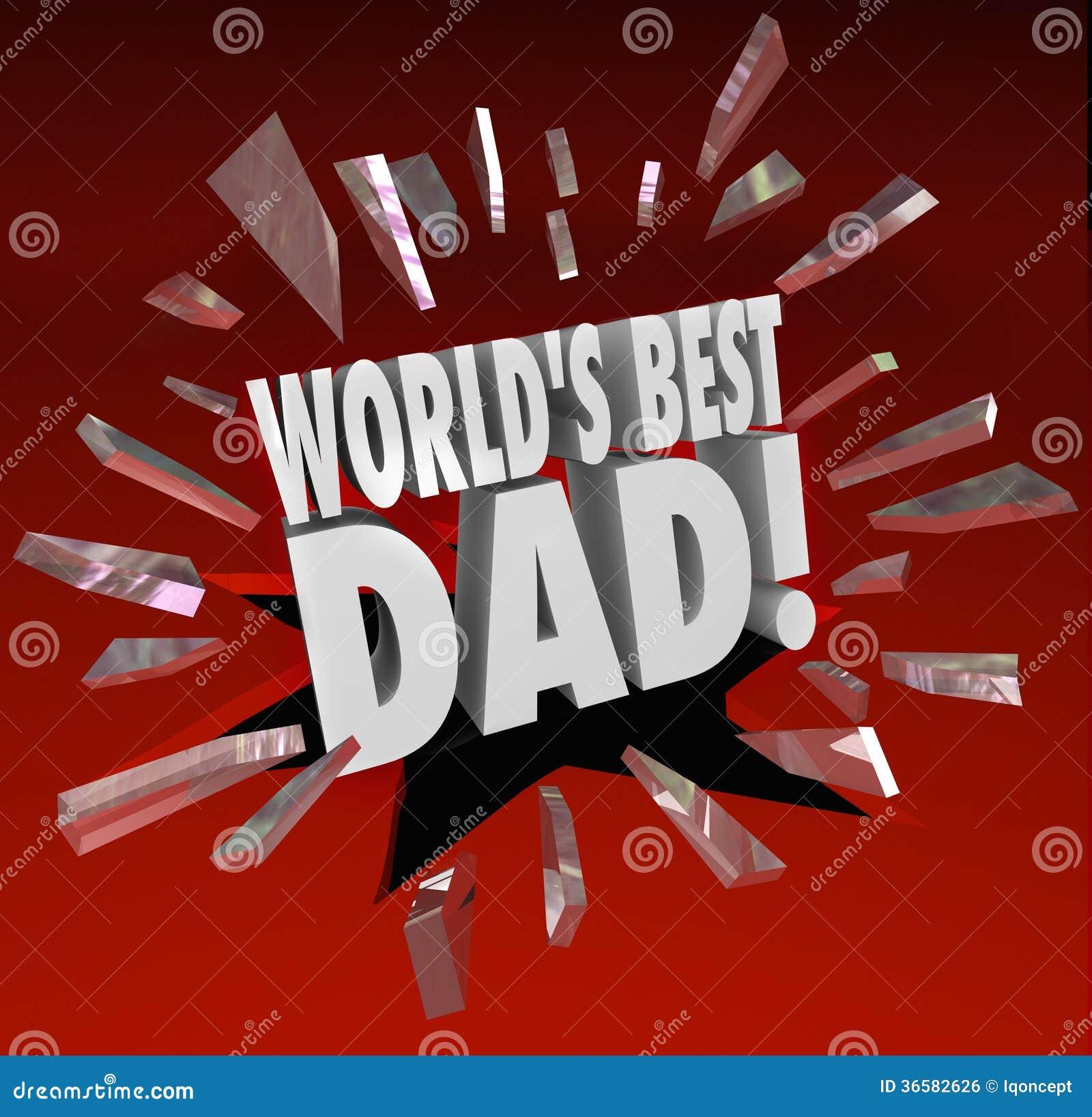 Van het de Papaouderschap van de wereld de Beste van de de Toekenningseer Hoogste Vader