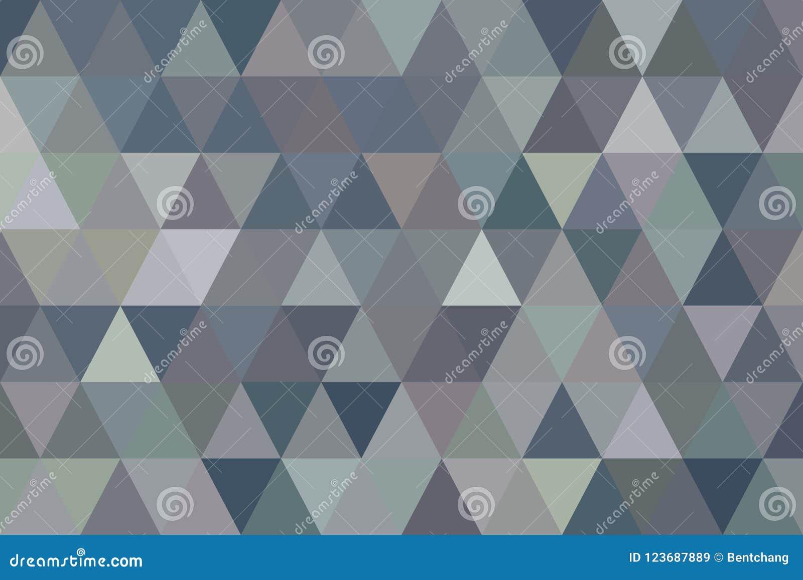 Van het de strook geometrische patroon van de kleuren abstracte driehoek generatieve de kunstachtergrond Het behang, herhaalt, co
