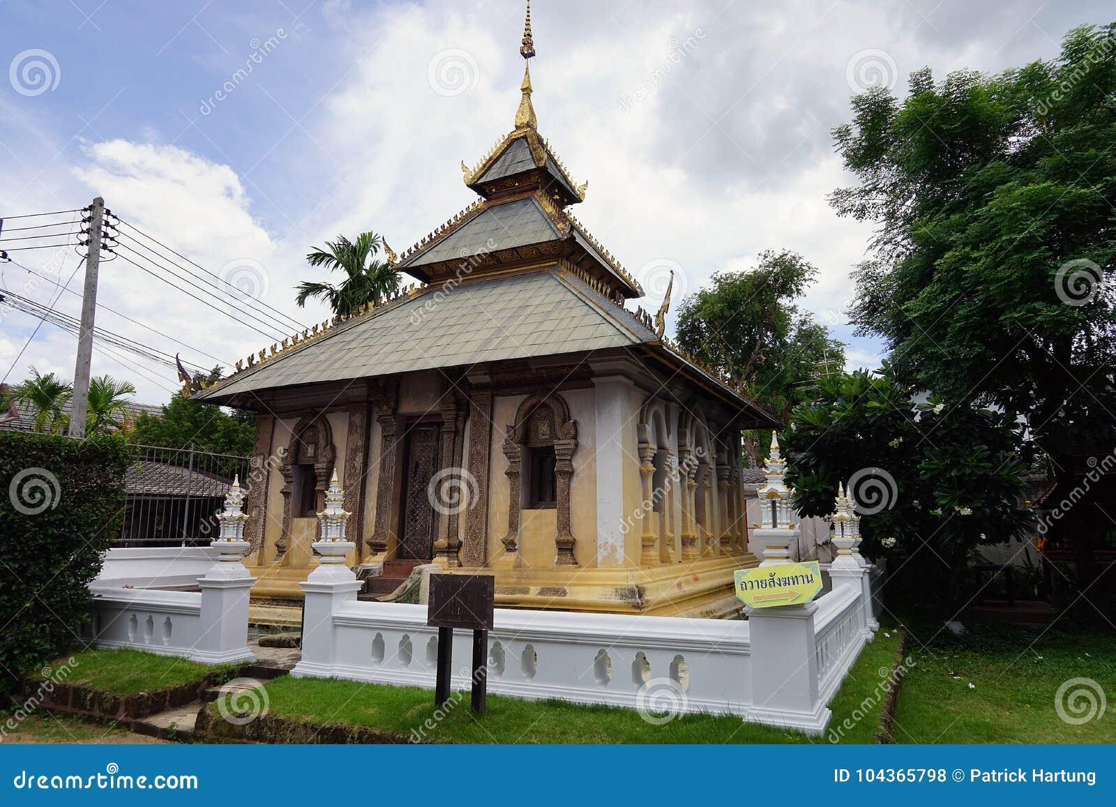 Van het de Tempelboeddhisme van Thailand Godsdienst van de de Gods de Gouden Reis Boedha