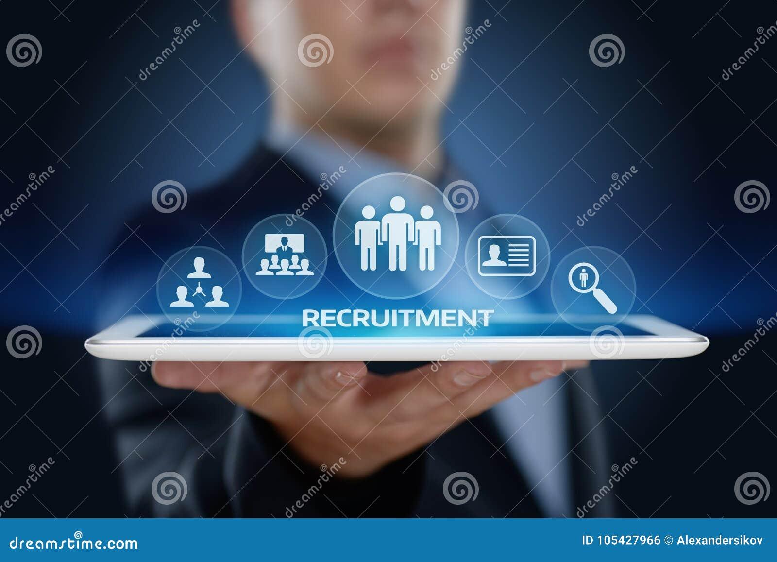 Van het de Werknemersgesprek van de rekruteringscarrière Bedrijfsu Personeelsconcept