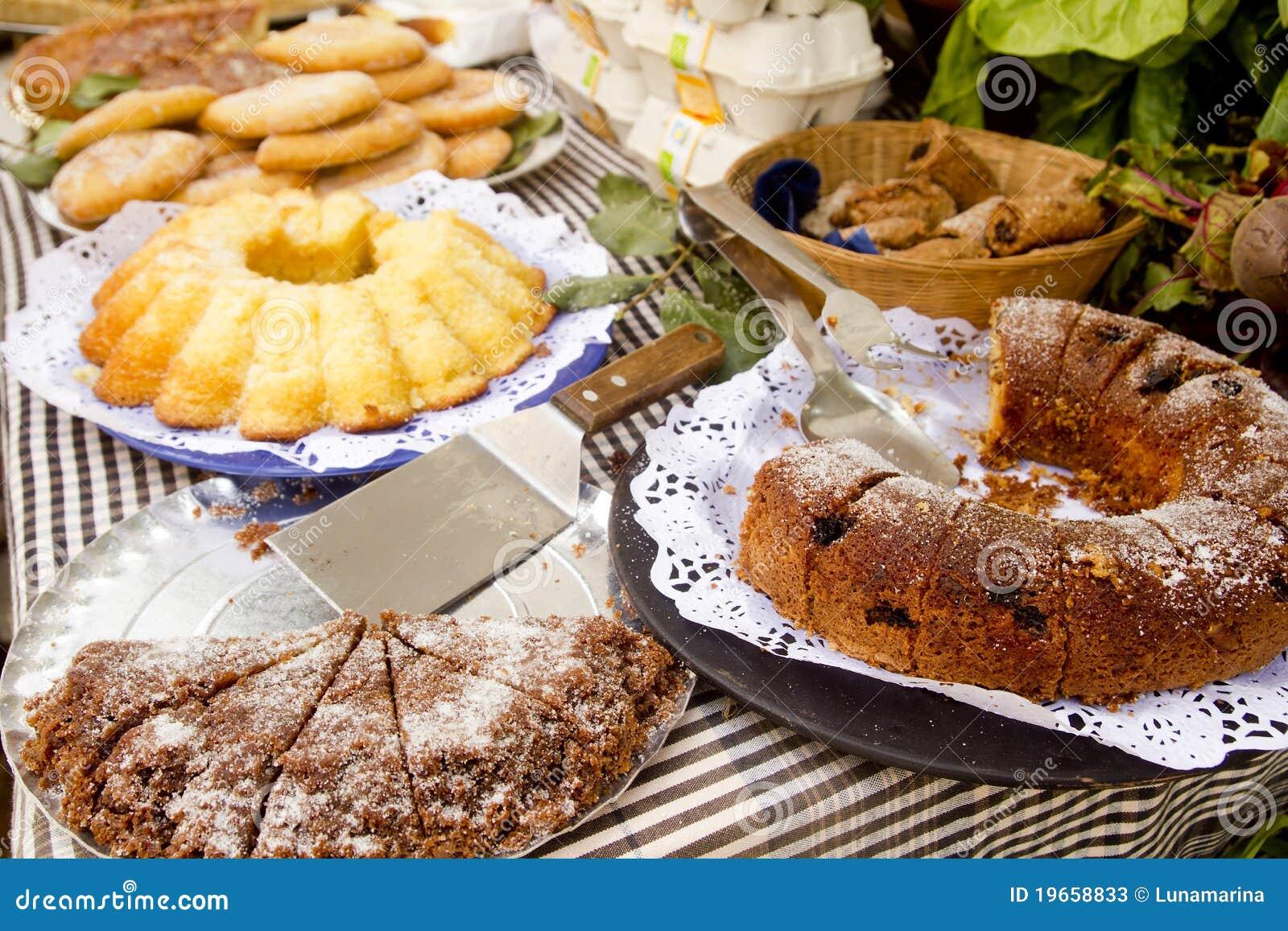 Van het gebakjesnoepjes van cakes de mediterrane bakkerij balearic stock foto 39 s afbeelding - Het upgraden van m ...