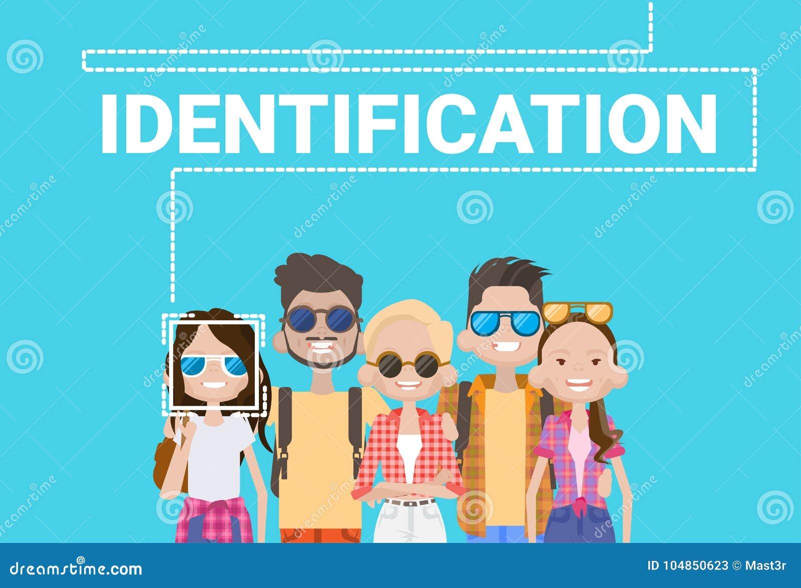 Van het het Gezichtsaftasten van de groeps Mensen het Biometrische Identificatie van het het Systeem Moderne Toegangsbeheer Conce