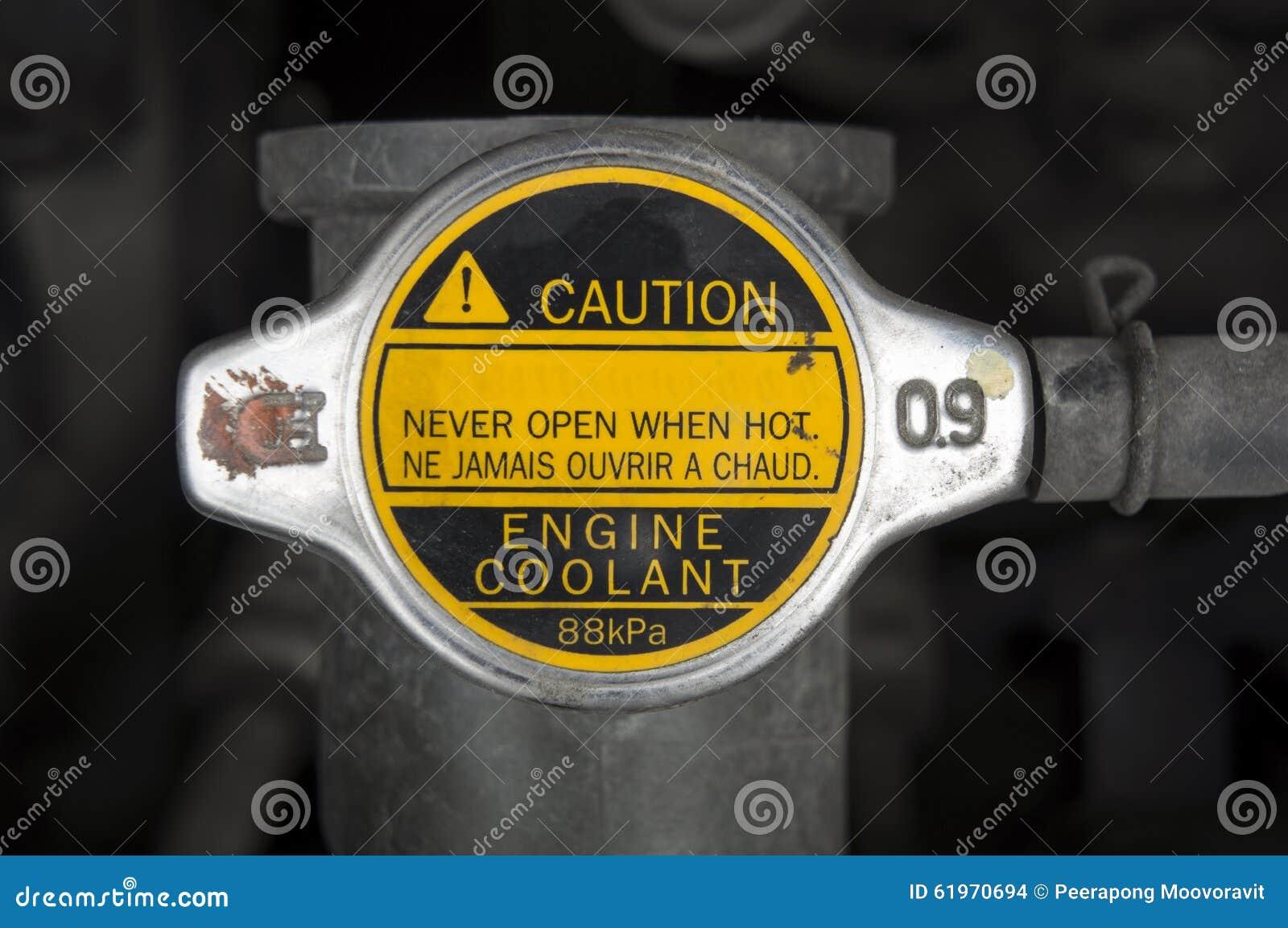 Van het het dekselantivriesmiddel van het auto de automobiele koelmiddel radiator van de het waterstop concep