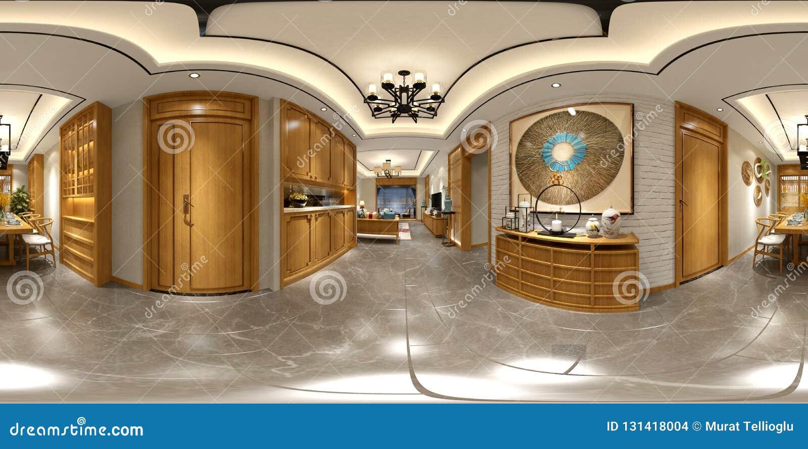 360 van het Huisgraden Binnenland
