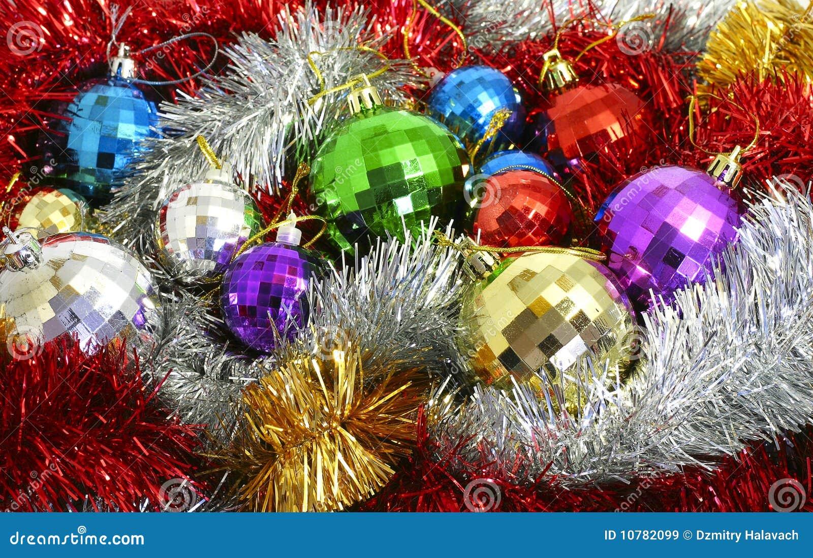 Van het klatergoud en Kerstmis-Boom decoratie