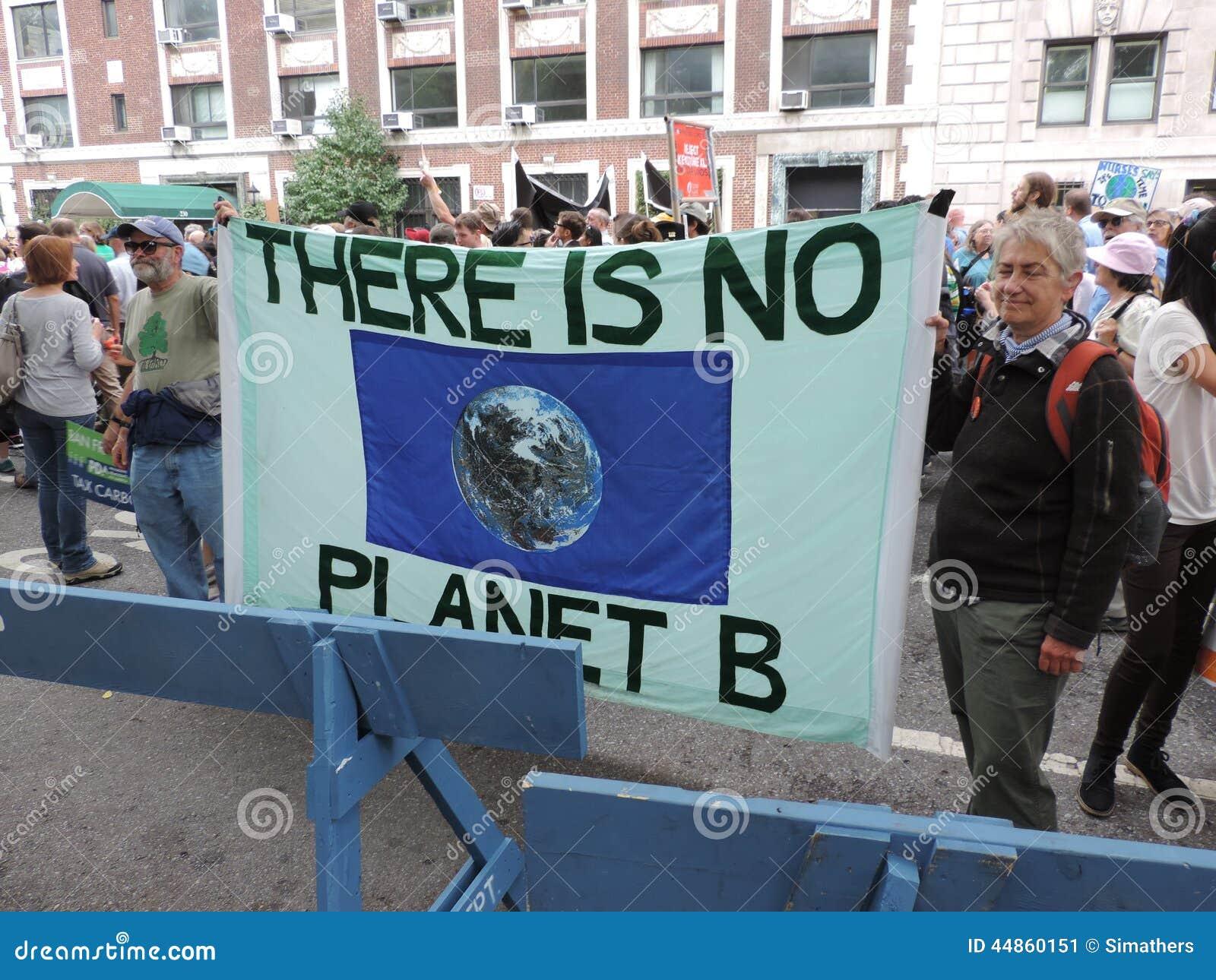 Van het Klimaatmaart New York van mensen de Stad 2014