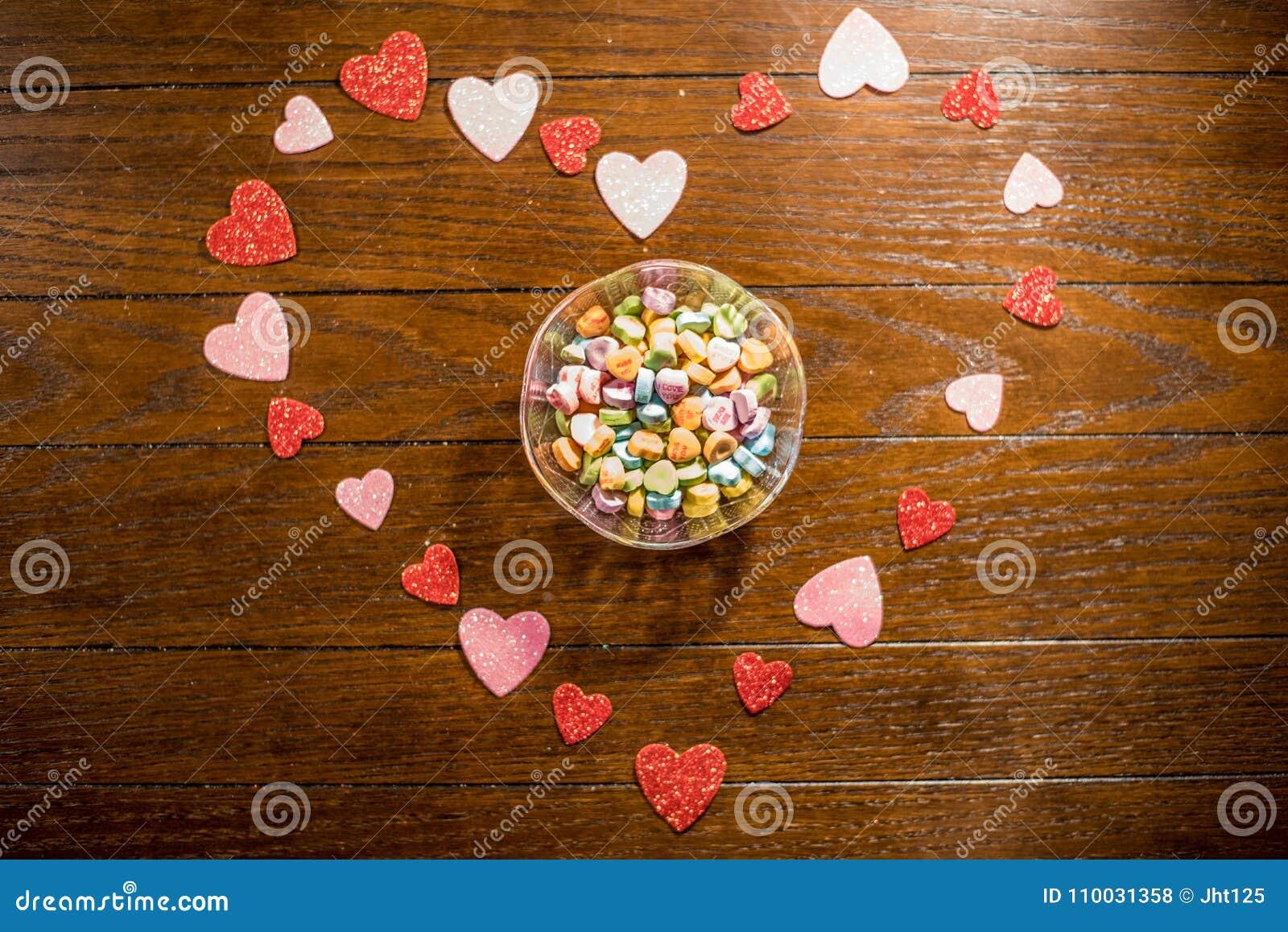 Van het valentijnskaartenhart en Liefje Suikergoed