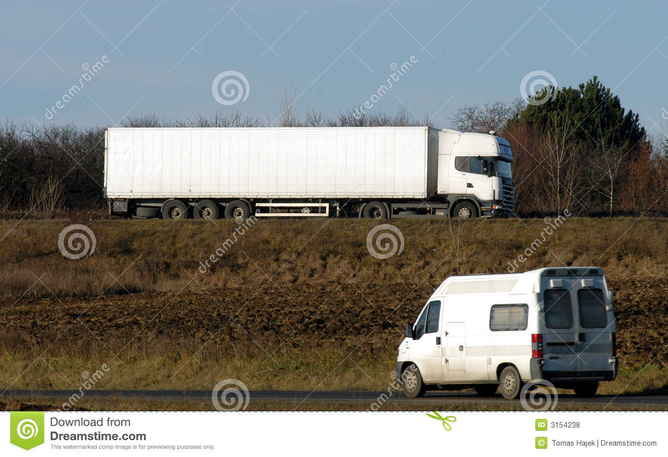 Van and lorry