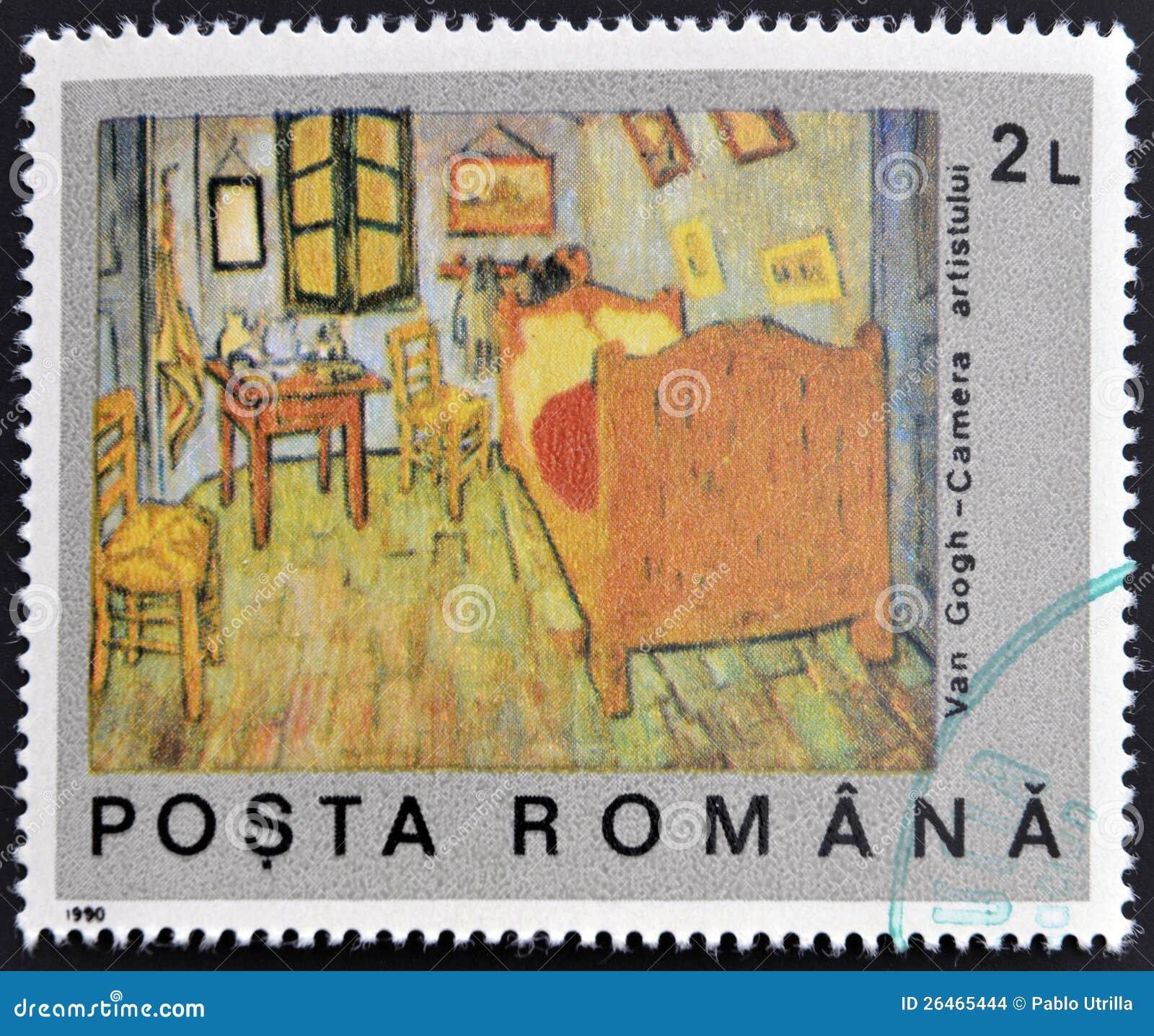 Van Sypialnia Goghs Zdjęcie Stock Obraz Złożonej Z