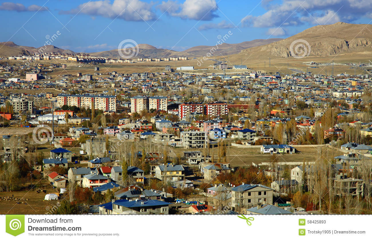 Van Turkey  City new picture : Van, Turkey. Stock Photo Image: 58425893
