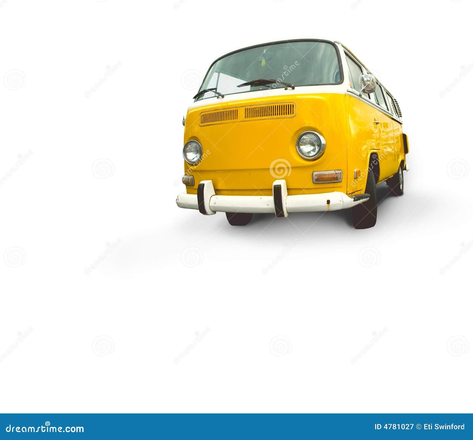 Van vintage κίτρινος