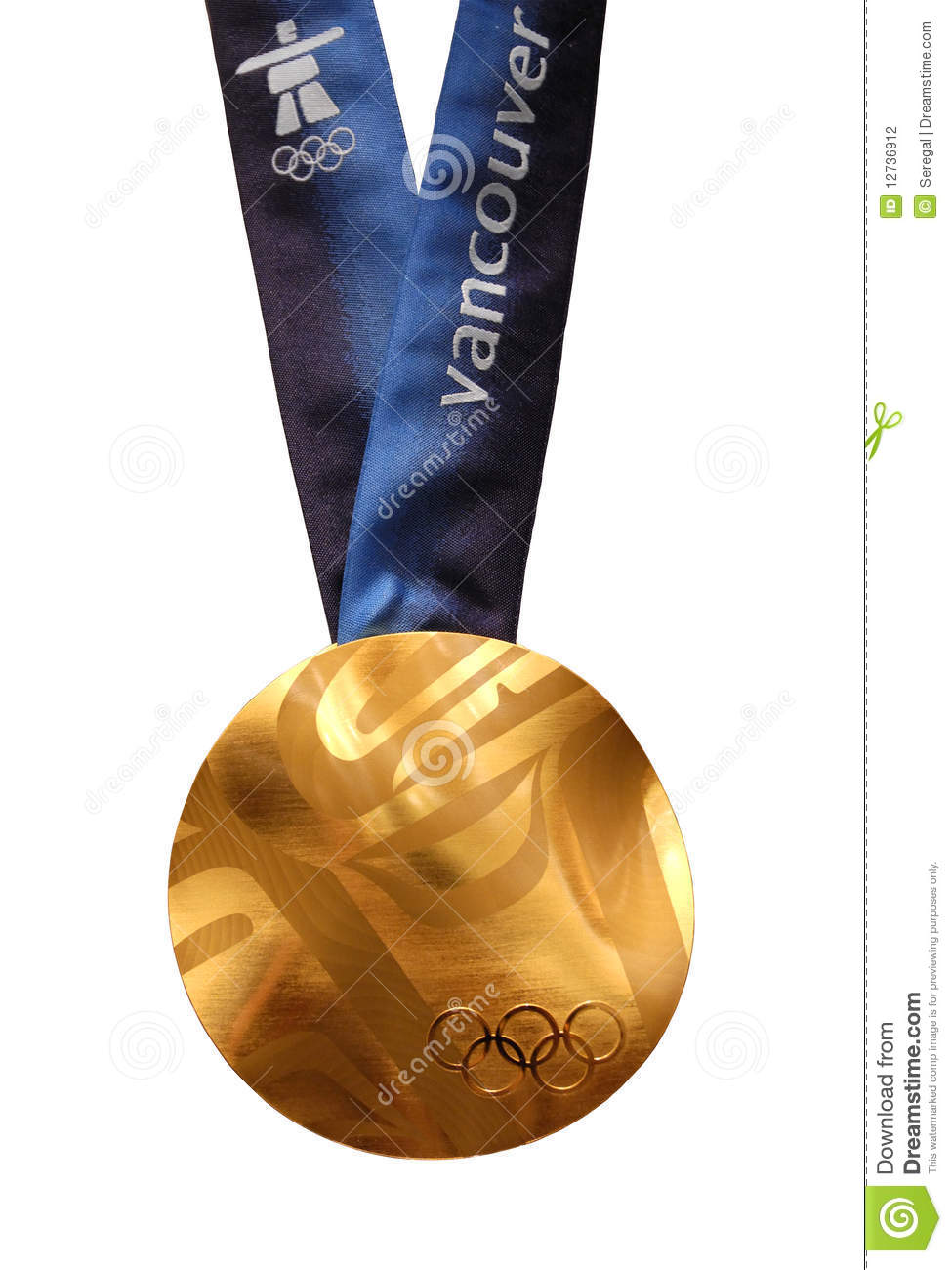 vancouver 2010 olympics gouden medaille redactionele