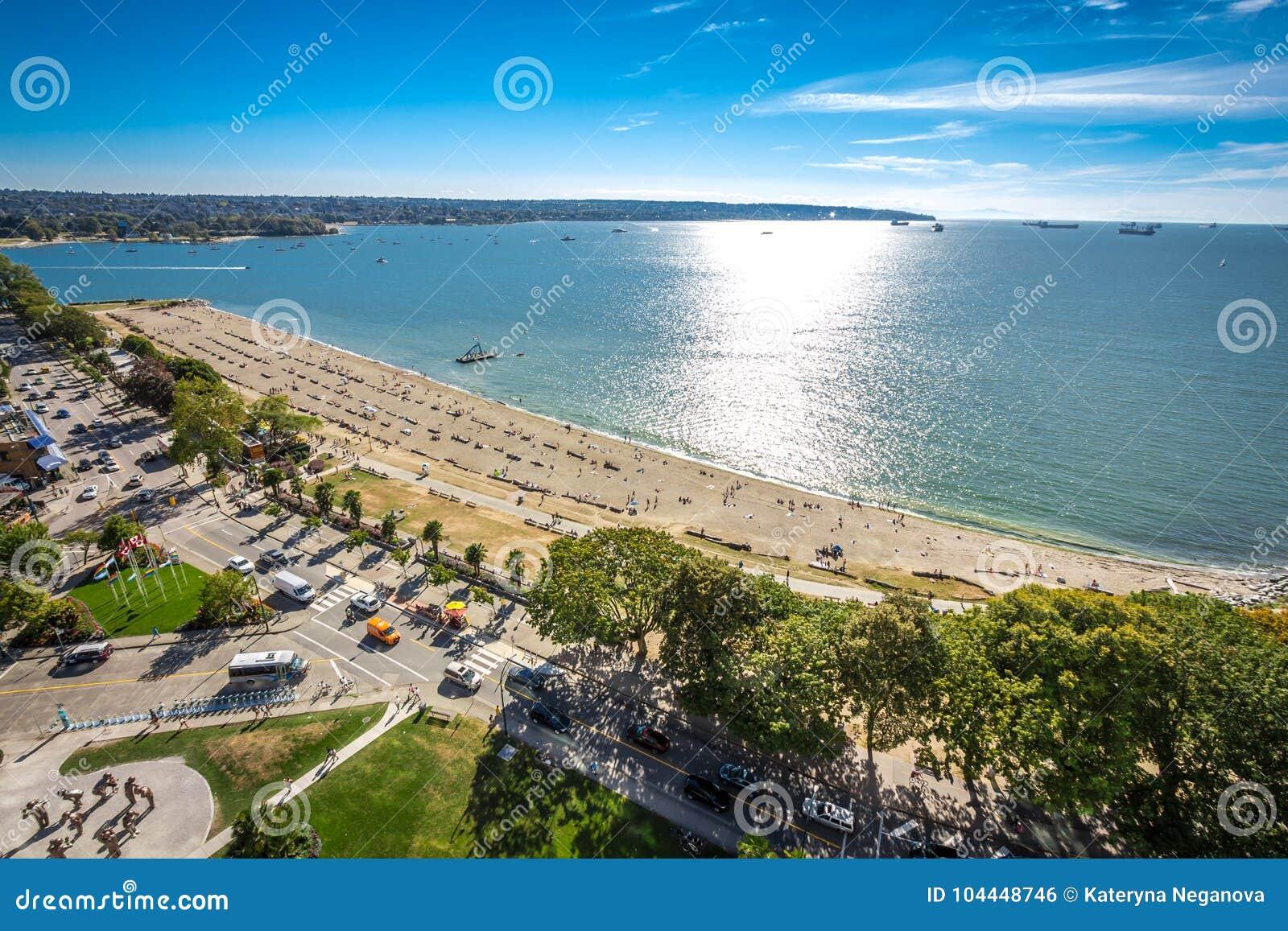 Vancouver angielszczyzn zatoki plaża