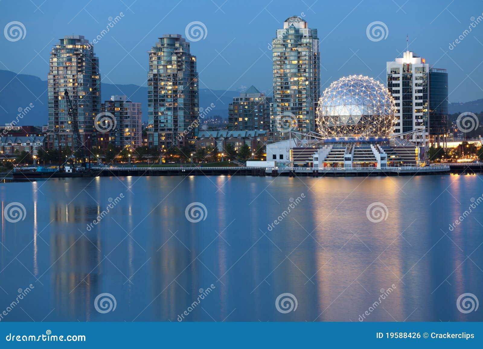 Vancouver BC, horizon du Canada, horizon